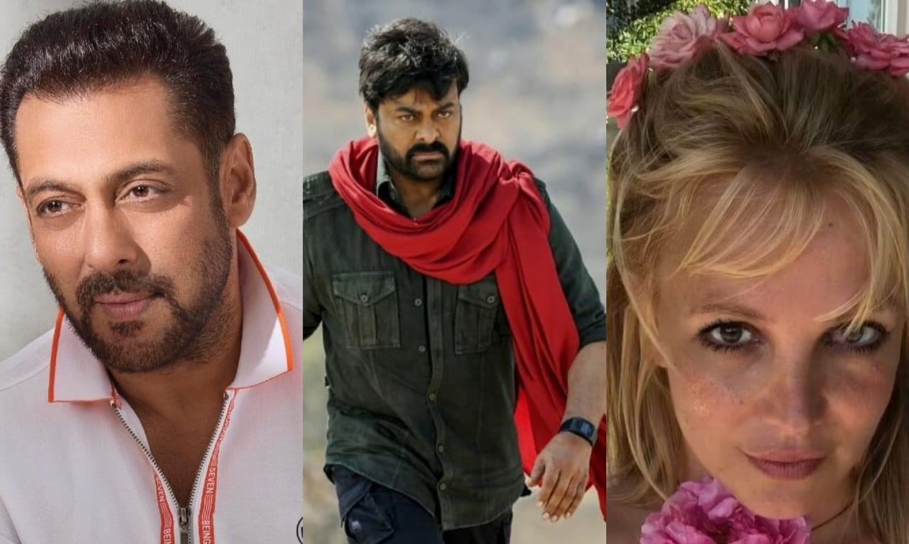 Salman Khan and Britney Spears in Chiranjeevi's upcoming movie