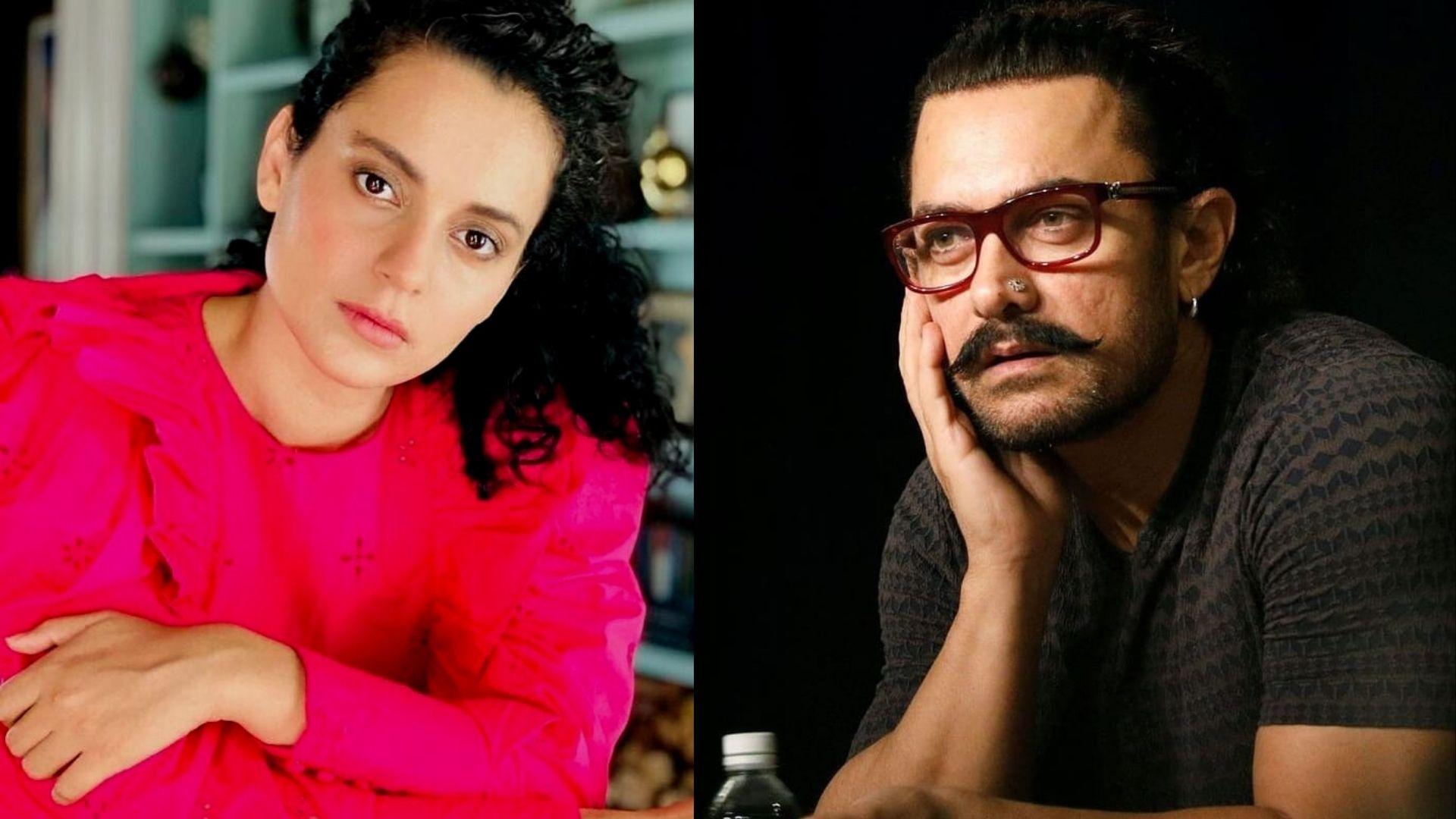 Kangana Ranaut Takes A Dig At Aamir Khan For Samantha Akkineni-Naga Chaitanya's Split; Blames 'Divorce-Expert' For Their Breakup