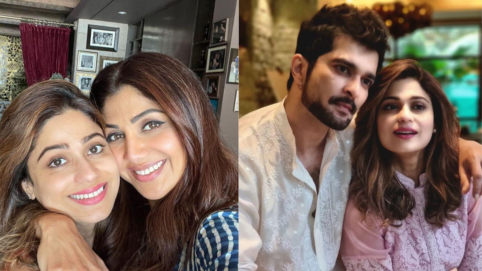 Bigg Boss 15: Confirmed Contestant Shamita Shetty's BF Raqesh Bapat Confirms Meeting Shilpa Shetty And Their Mom; Gives An Epic Reply