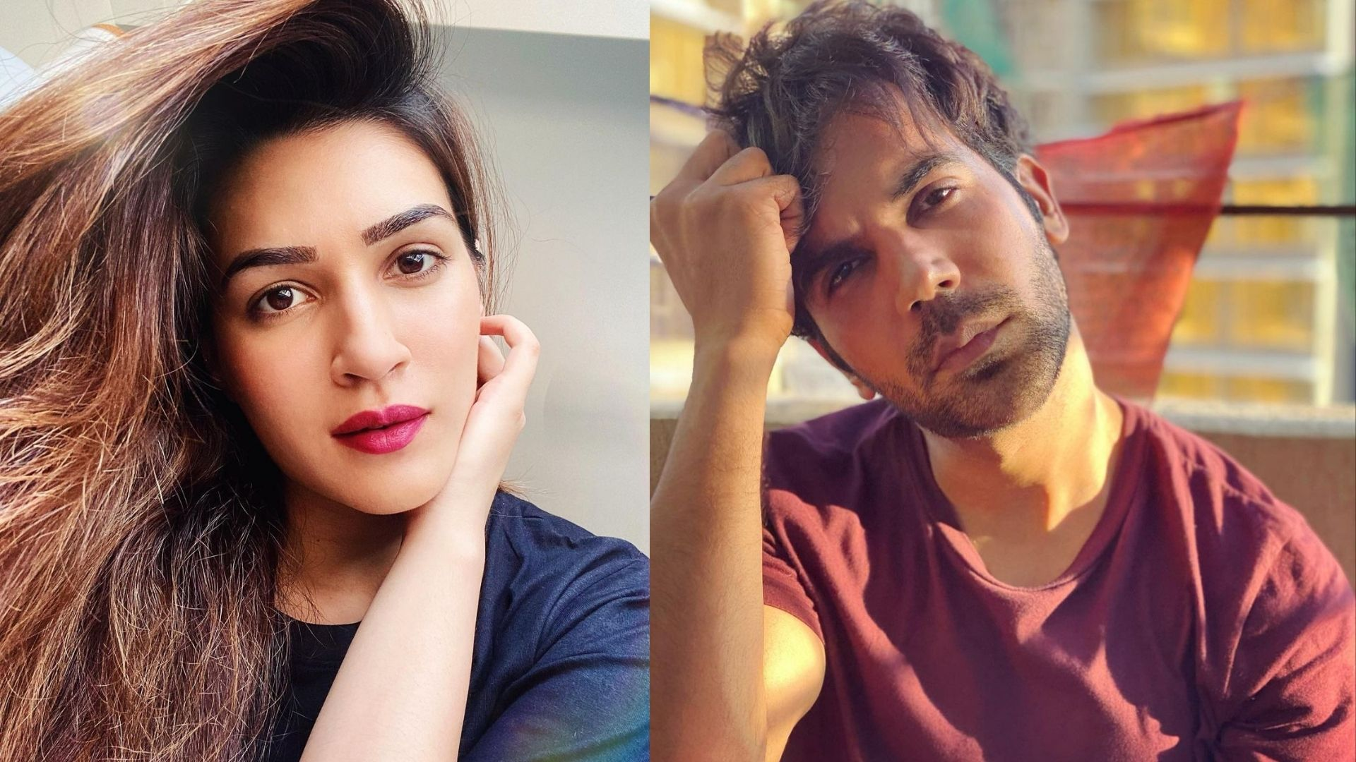 Kriti Sanon And Rajkummar Rao To Make A New Movie Announcement Soon?; Actor Duo Shares An Intriguing Poster