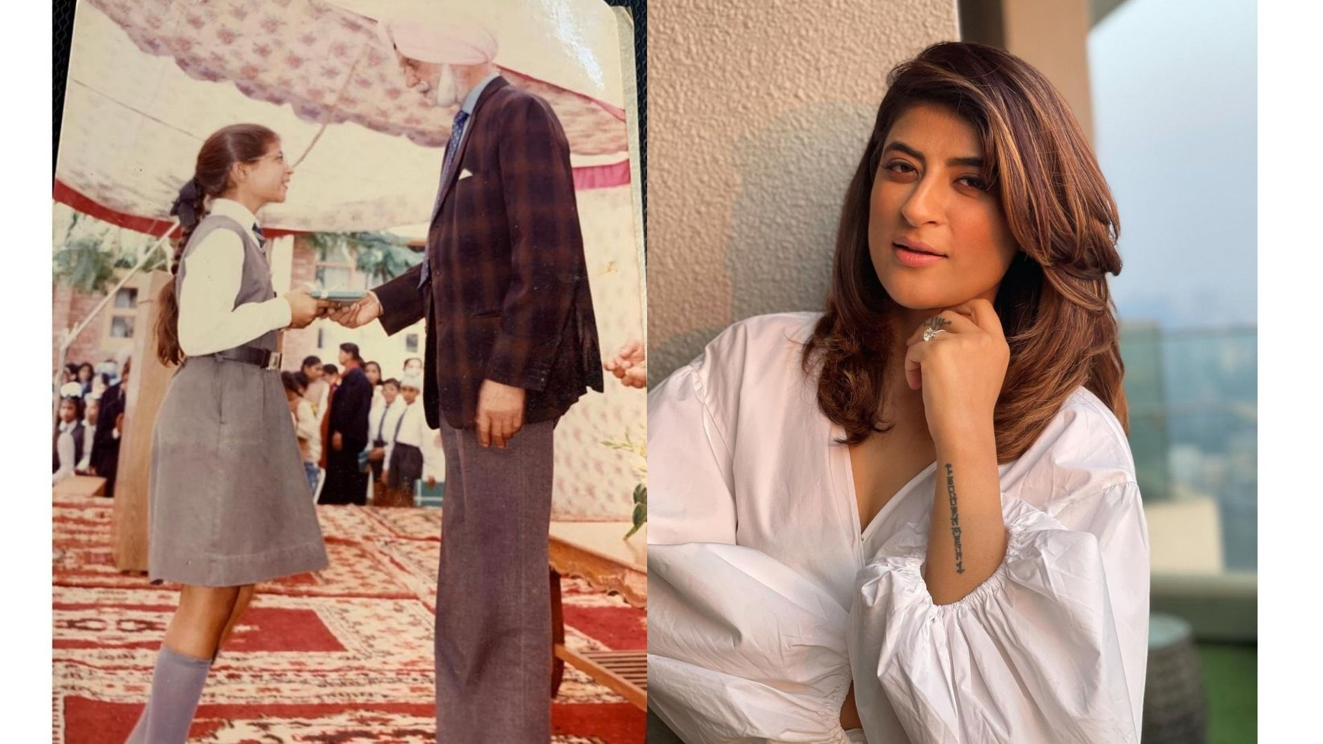 Tahira Kashyap Khurrana Displays Old School Photos And Recalls An Experience With Khushwant Singh