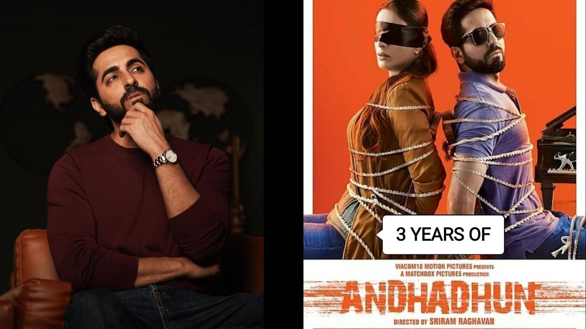3 Years Of Andhadhun: Ayushmann Khurrana Opens Up About Film's Success