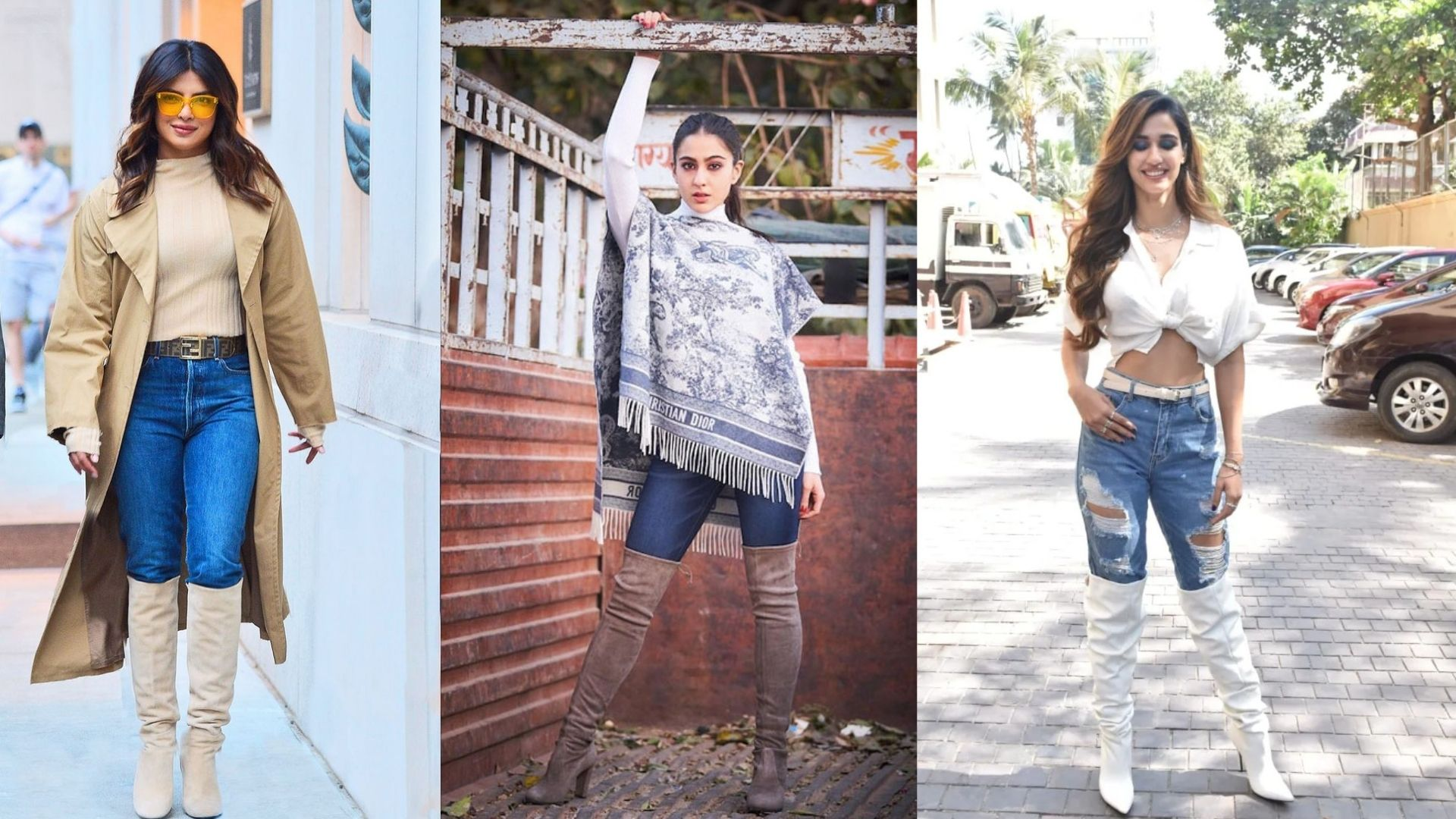 Priyanka Chopra To Sara Ali Khan- Actresses Who Wore High Thigh Boots That Are Perfect For The Fall