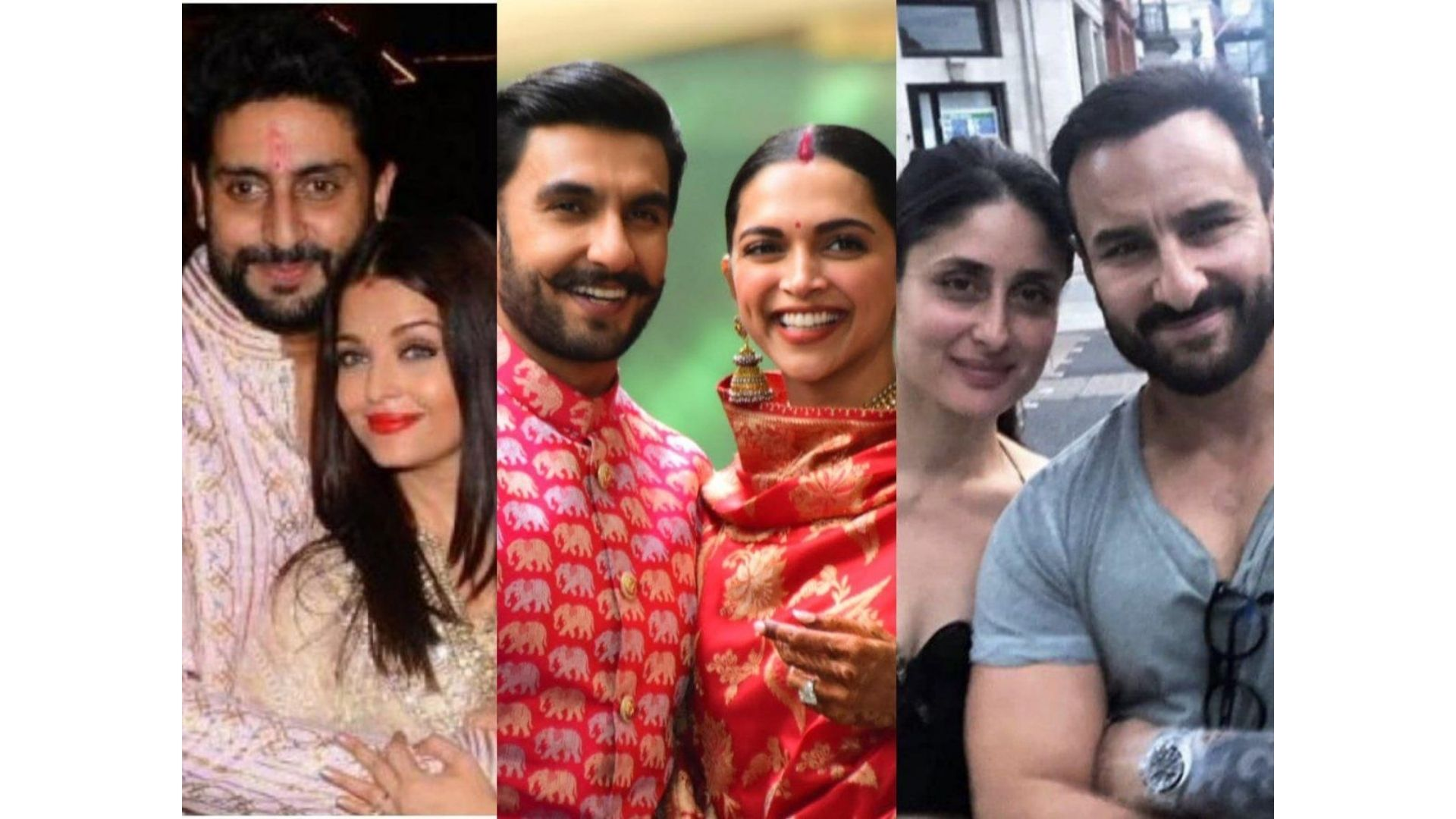 Deepika Padukone, Saif Ali Khan And Abhishek Bachchan- Celebs Who Tied The Know With Their Co-Stars