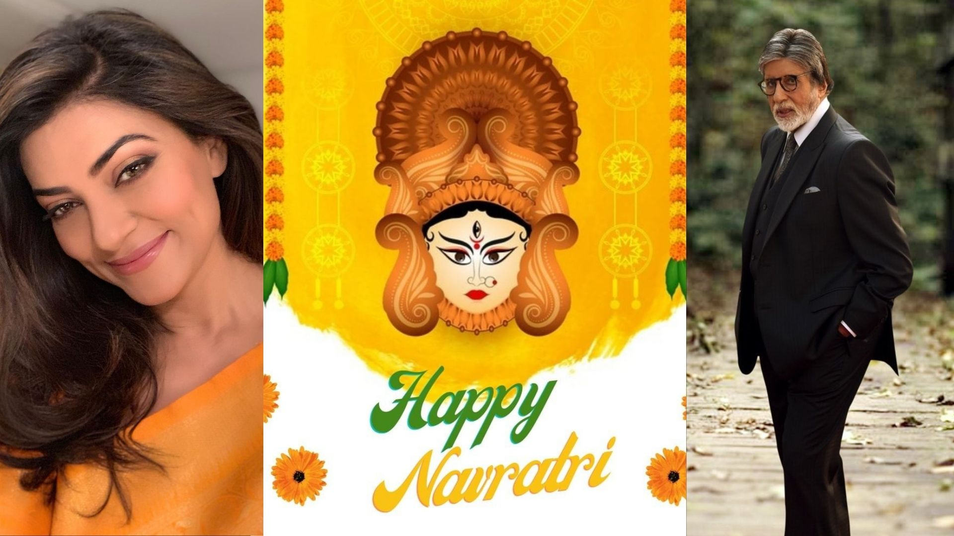 Navratri 2021: Amitabh Bachchan, Sushmita Sen, Sanjay Dutt And Anupam Kher Among Others Extend Their Wishes On The Holy Festival