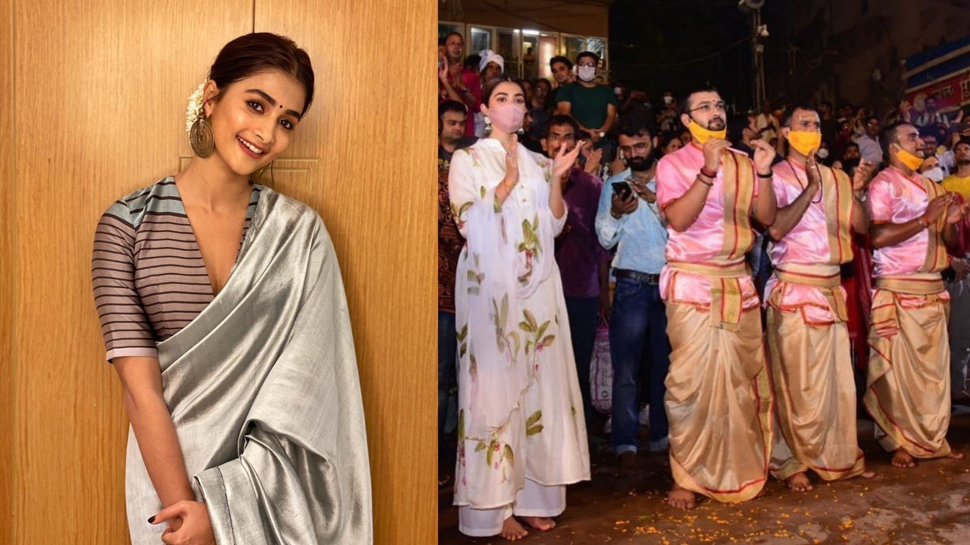 Pooja Hegde's Visit To Benaras For Ganga Aarti With Family Is Blissful For The Actress