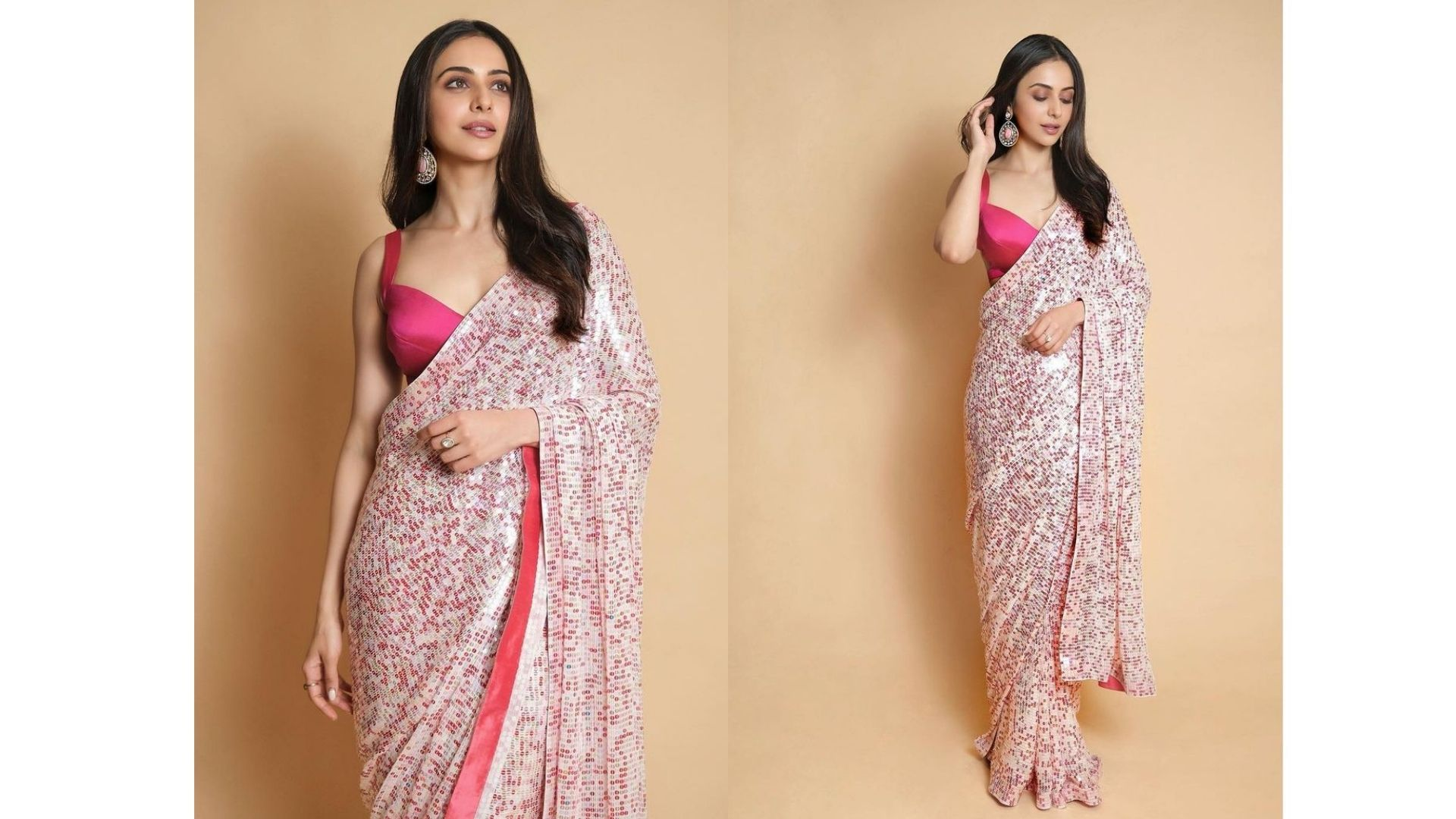 Rakul Preet Singh Looks An Ethnic Barbie In Her Latest Sequined Indian Attire