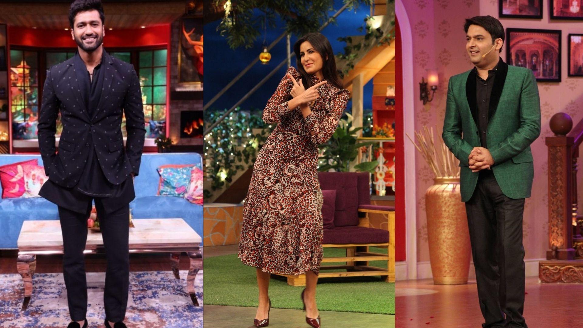 Vicky Kaushal Sneaks Out To Meet Rumoured Girlfriend Katrina Kaif; Kapil Sharma Lifts The Curtains