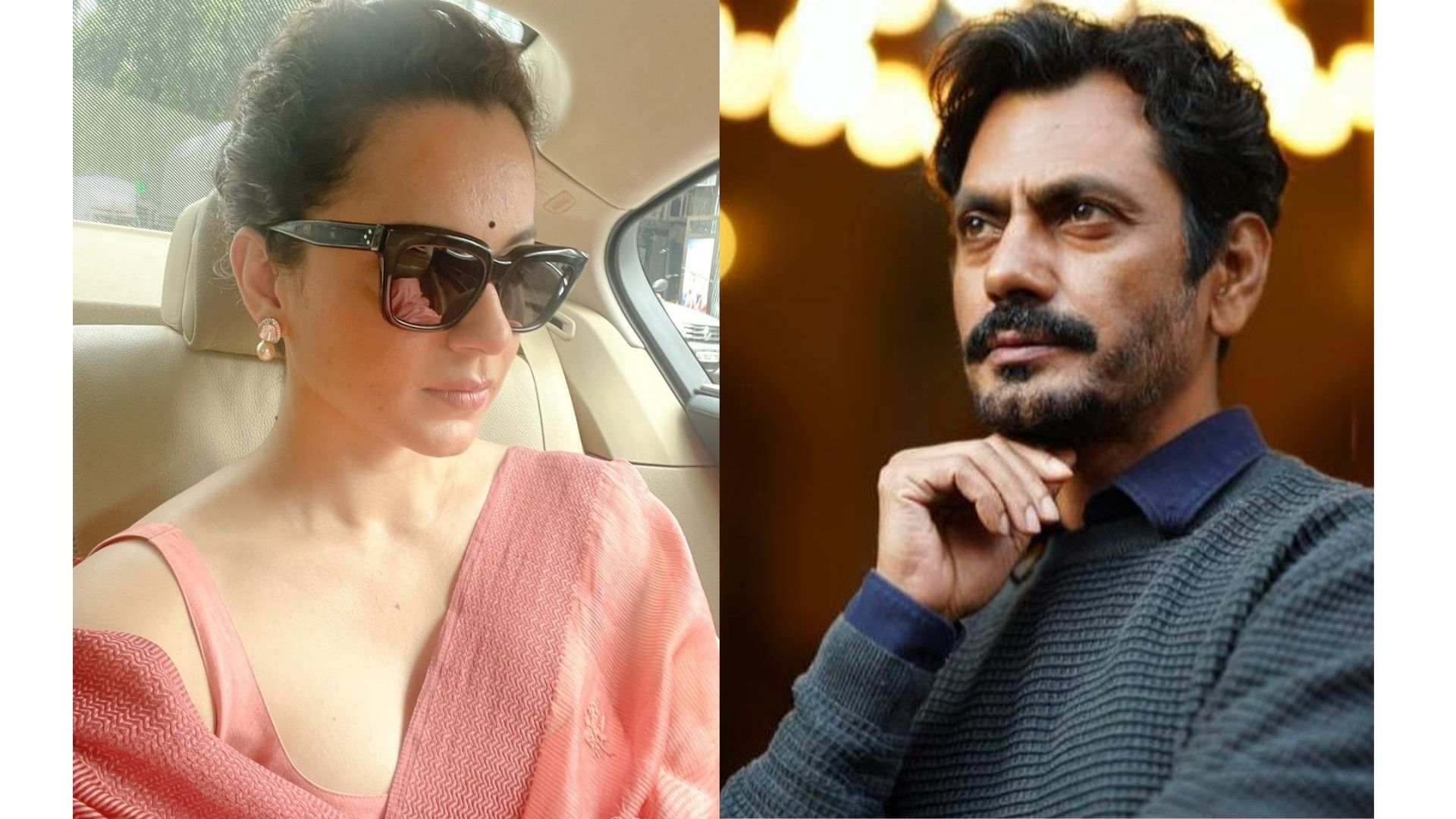 Kangana Ranaut Shares A Picture From Her Meeting With Nawazuddin Siddiqui As They Discuss Tiku Weds Sheru – PIC Inside
