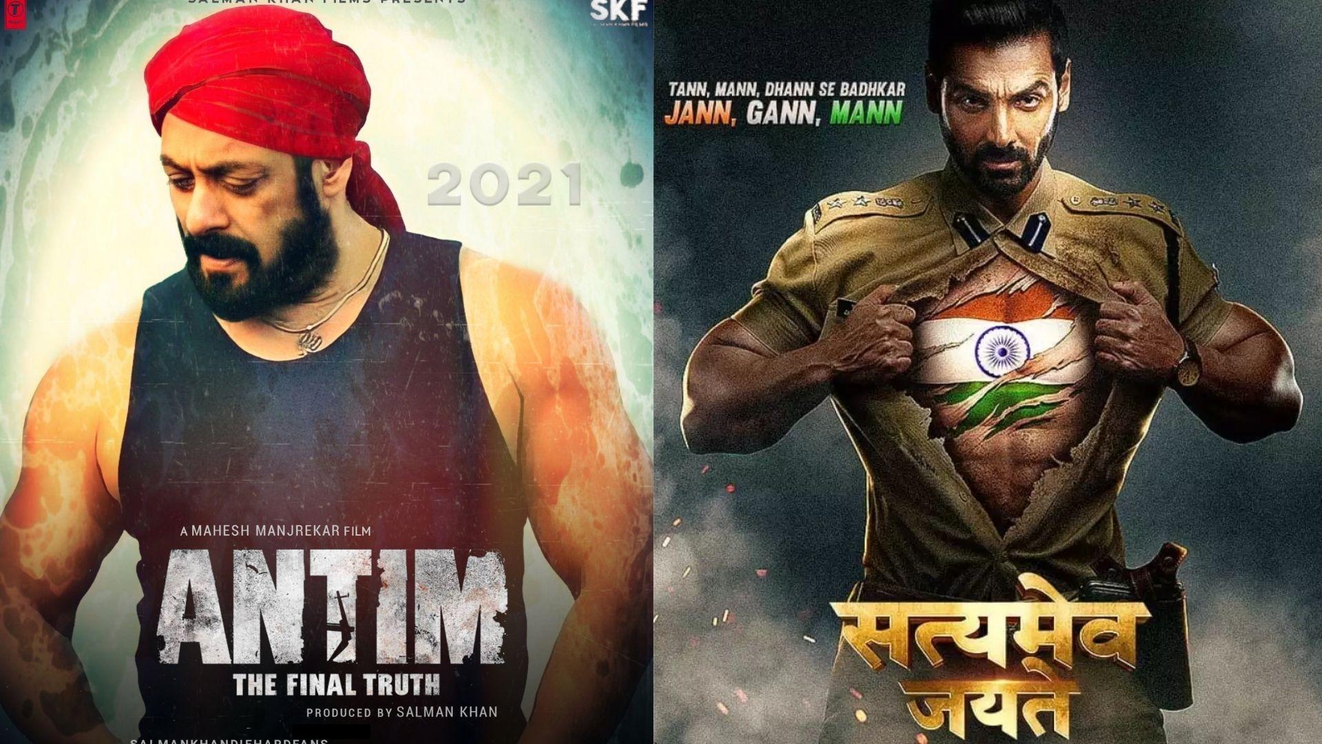 Movie Clash: Salman Khan's Antim To Lock Horns With John Abraham's Satyameva Jayate 2 At Box Office?