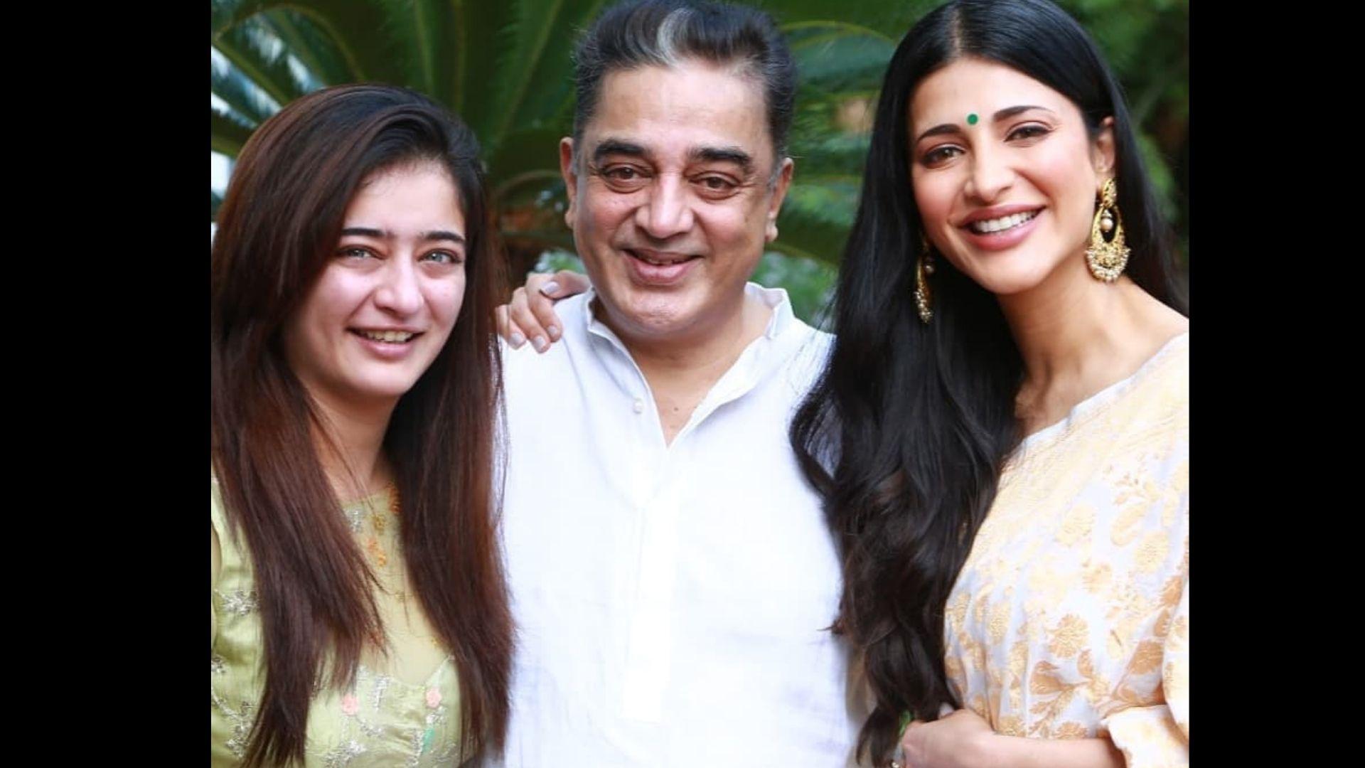 Shruti Haasan's Sister Akshara Haasan Gets The Sweetest Birthday Gift From Elder Sister