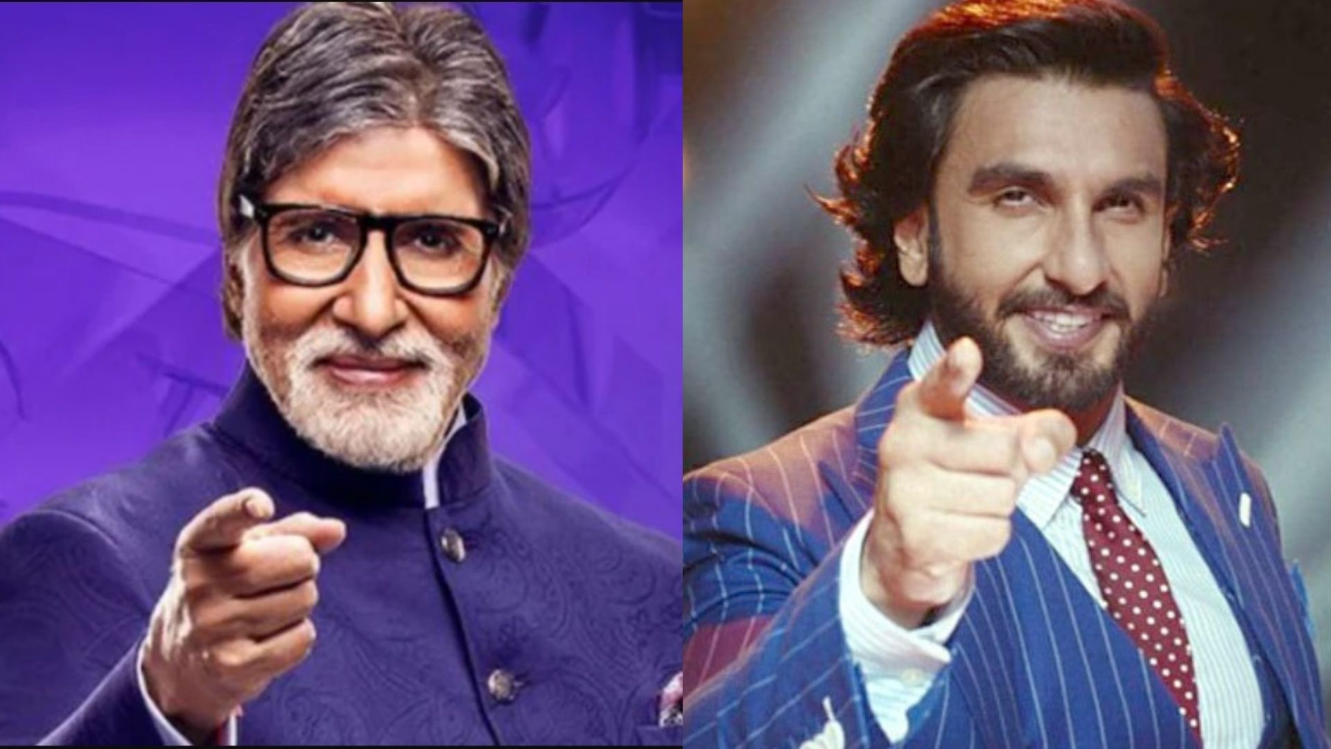 From Amitabh Bachchan To Ranveer Singh-  Bollywood Actors Who Made Smashing Television Debut