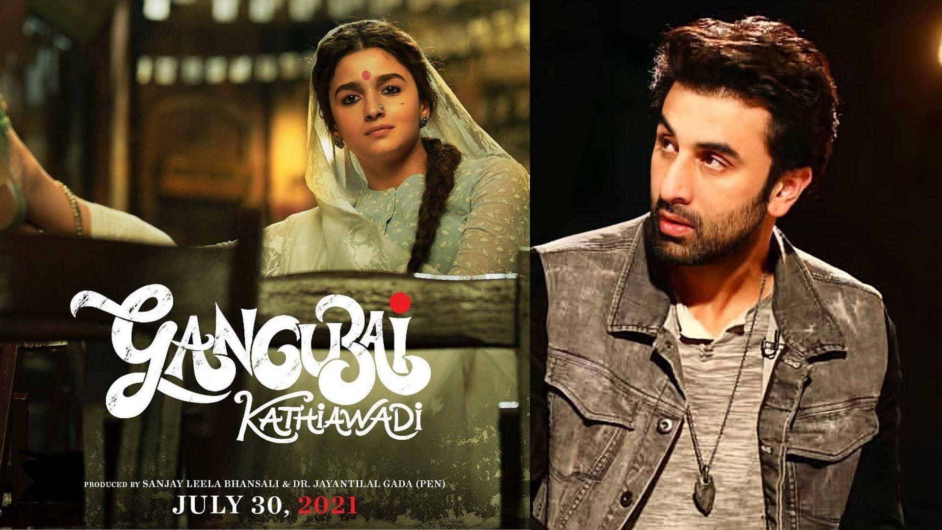 Ranbir Kapoor Can't Stop Praising Girlfriend Alia Bhatt's Upcoming Film Gangubai Kathiawadi