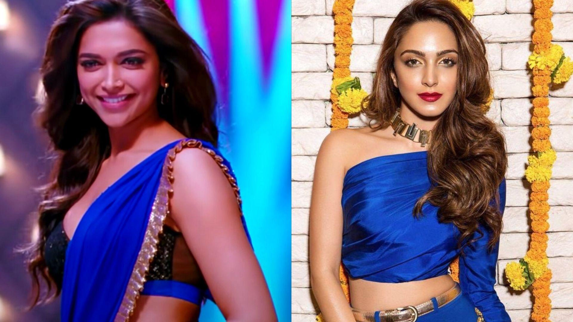 Kiara Advani To Deepika Padukone- Bollywood Actresses Who Rocked The Royal Blue Look On Navratri