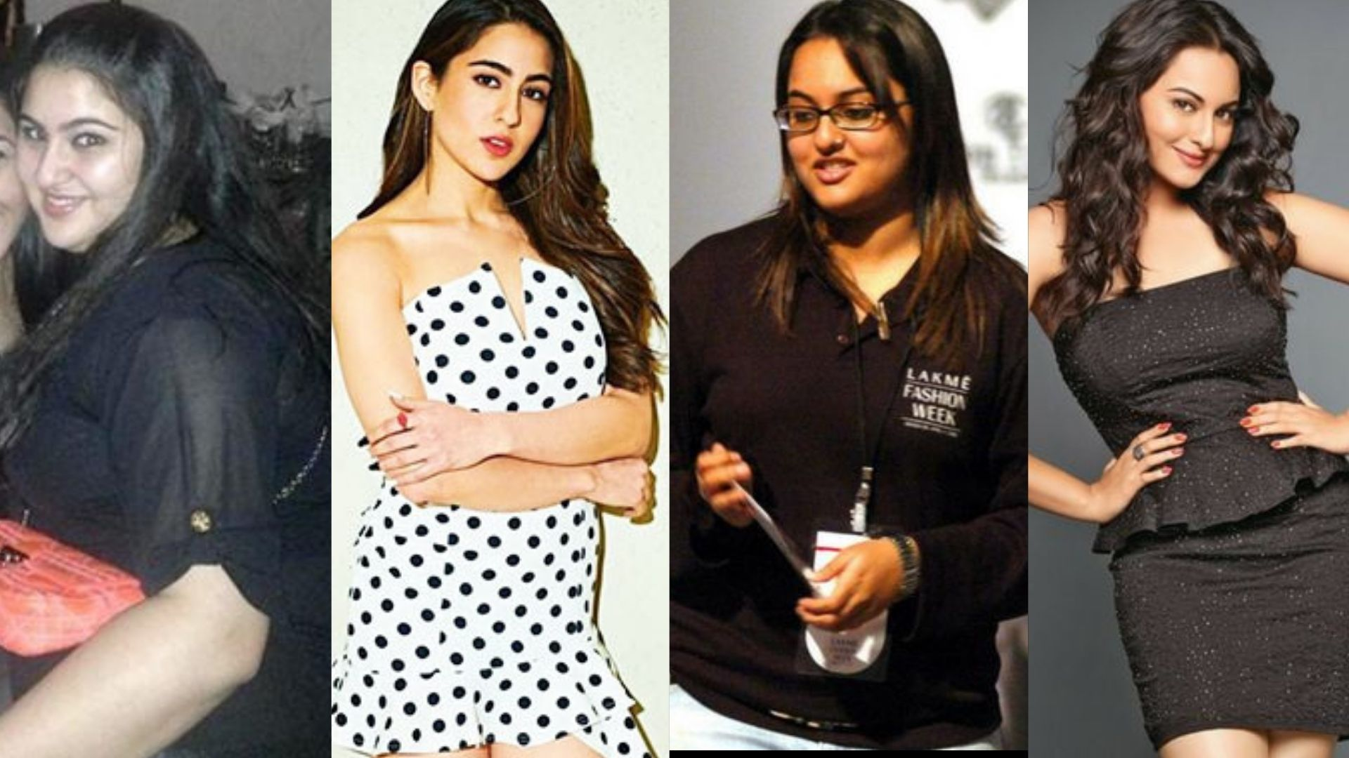 Sara Ali Khan To Sonakshi Sinha- Bollywood Actresses Who Lost Ooldes Of Weight To Get A Break Into Bollywood