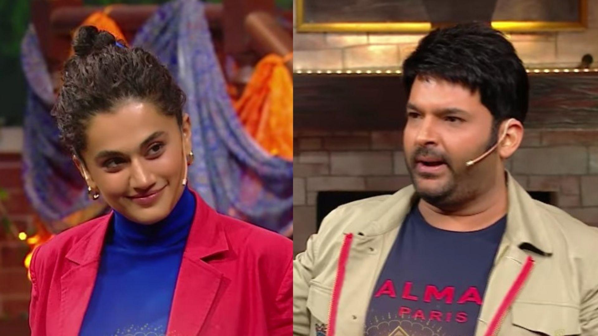 Rashmi Rocket: Kapil Sharma Teases Taapsee Pannu And Asks Her If She's Done A PT Usha Course