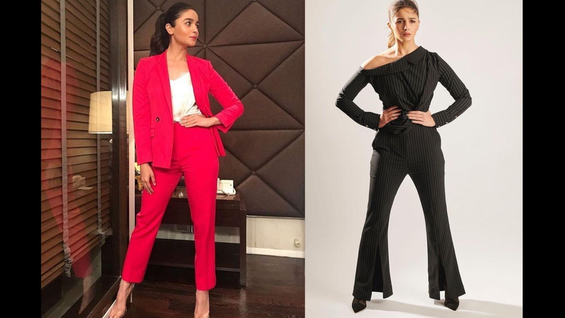 Alia Bhatt's Pant Suit Collection Is All About Formal Dressing With Style; Take Cues