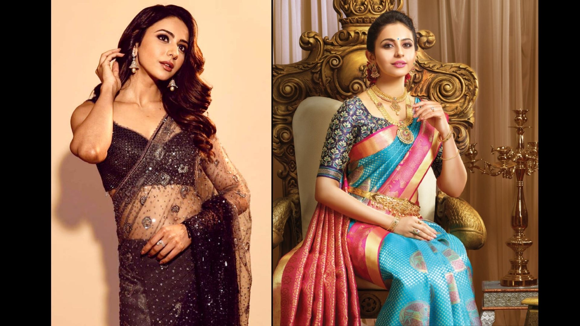 Rakul Preet Singh And Her Stunning Saree Collection Will Make Every Woman Go Green With Envy