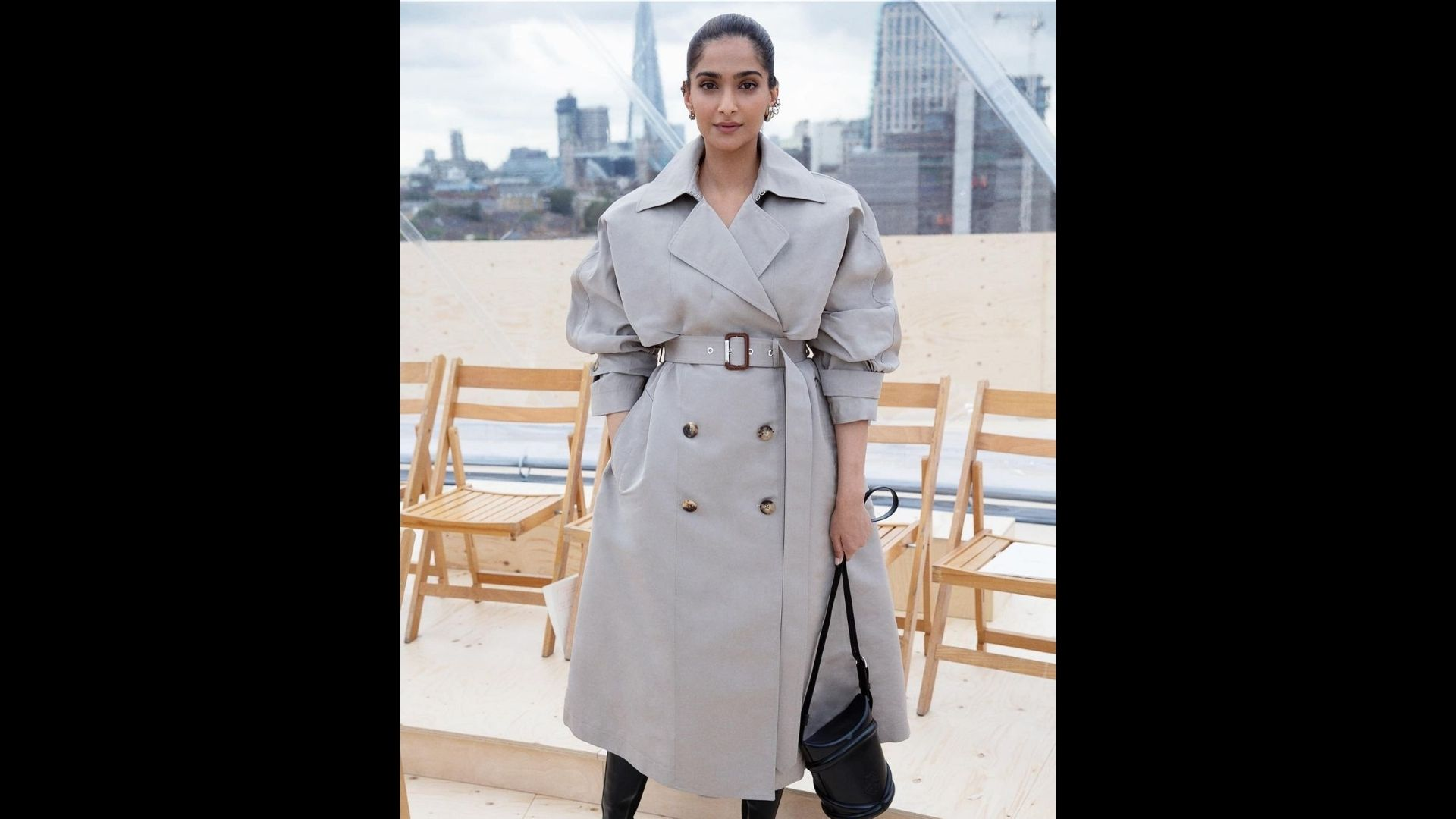 Sonam Kapoor's Trench Coat Is All You Need For Your Winter; Sets Gram On Fire With Provocative Attire