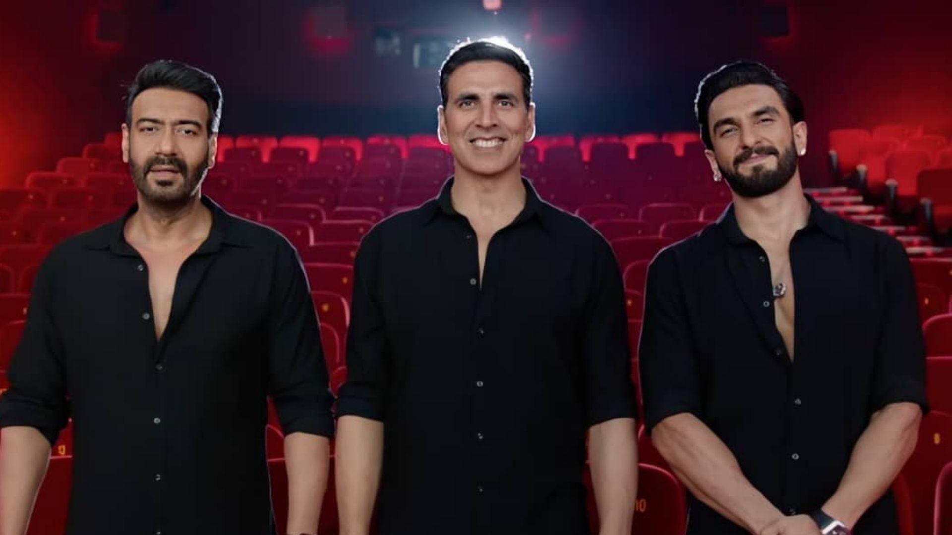 Sooryavanshi: Akshay Kumar, Ranveer Singh And Ajay Devgn Invite Audience To Theater On November 5; Actors Say 'Now It's Showtime'