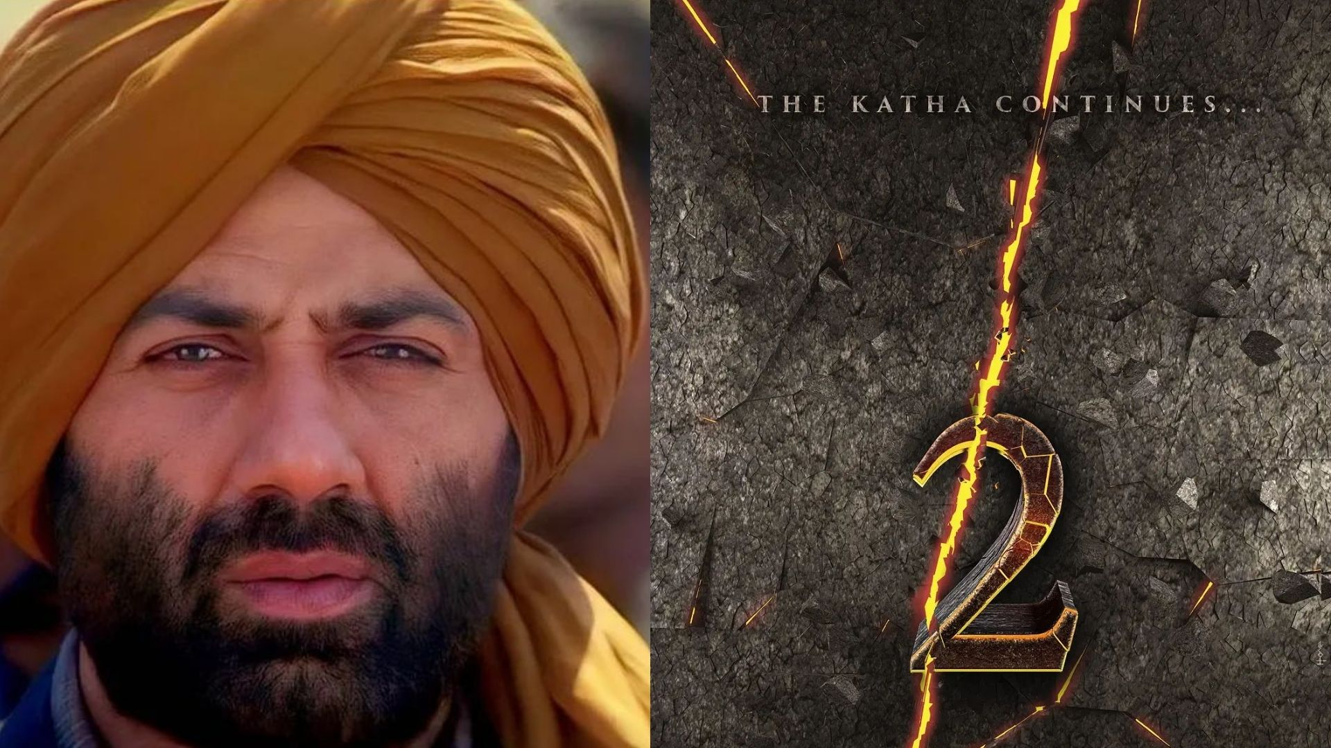 Gadar 2: Sunny Deol To Make A Comeback After Two Decades; Shares An Intriguing Motion Poster Of The Sequel Film