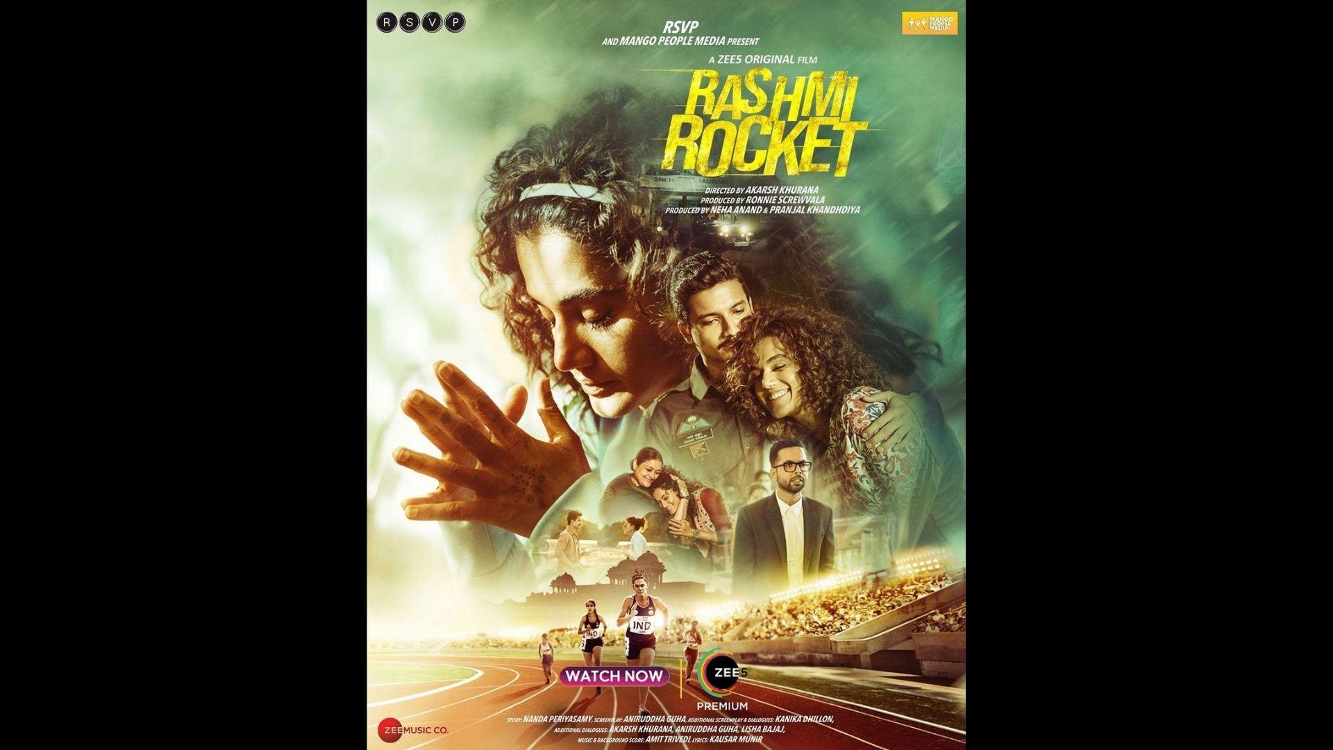 Rashmi Rocket Netizens Review: Taapsee Pannu Starrer Garners Praises; Fans Say, 'Sensible Topics Raised' In The Sports Drama