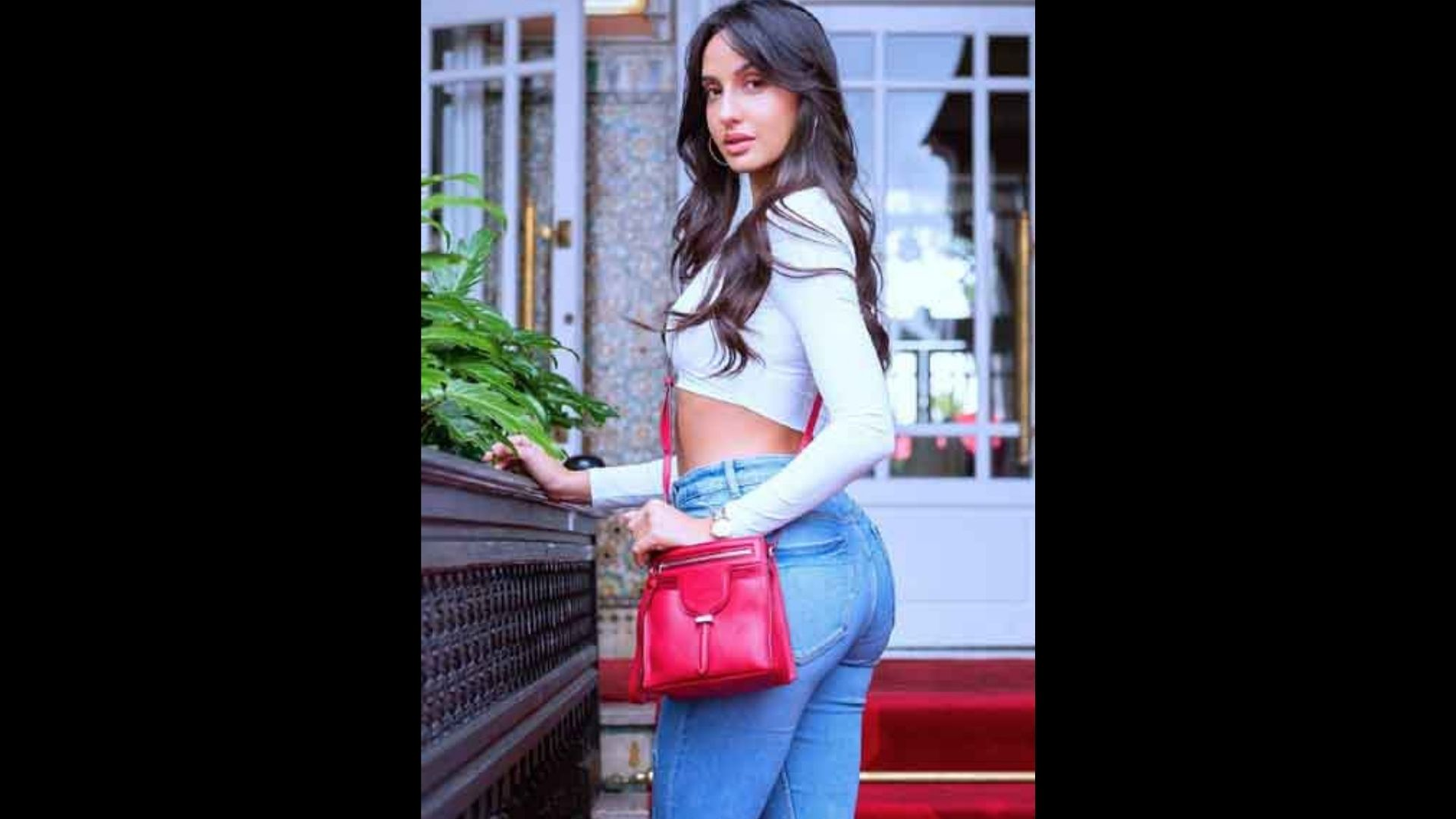 Nora Fatehi Looks No Less Than A Fairy In her Baby Pink Outfit; Actress' Handbag Has Caught The Attention