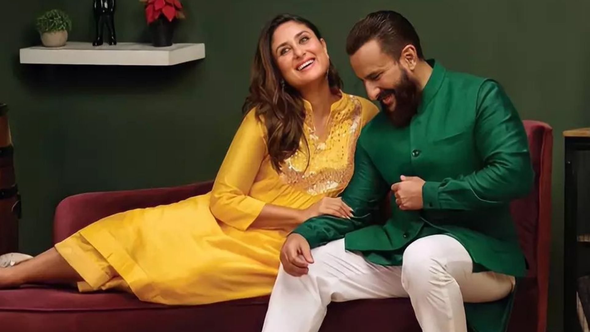 Kareena Kapoor Khan And Saif Ali Khan Anniversary: Actress Posts A Heartfelt Wish For The Most Handsome Man In The World; Shares A Priceless TB Photo
