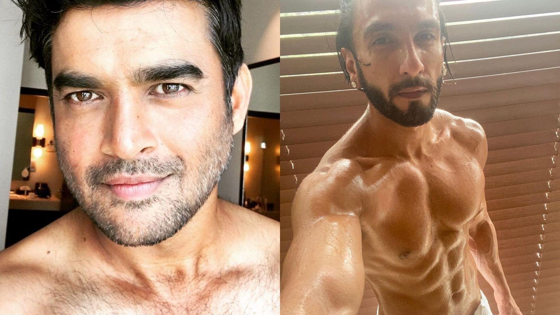 Ranveer Singh's Shirtless Shower Selfie Makes R Madhvan Go ROFL; Comments, 'Post-Shower Selfie Ka Khitaab Mujhse Kitni Baar Cheenega?'