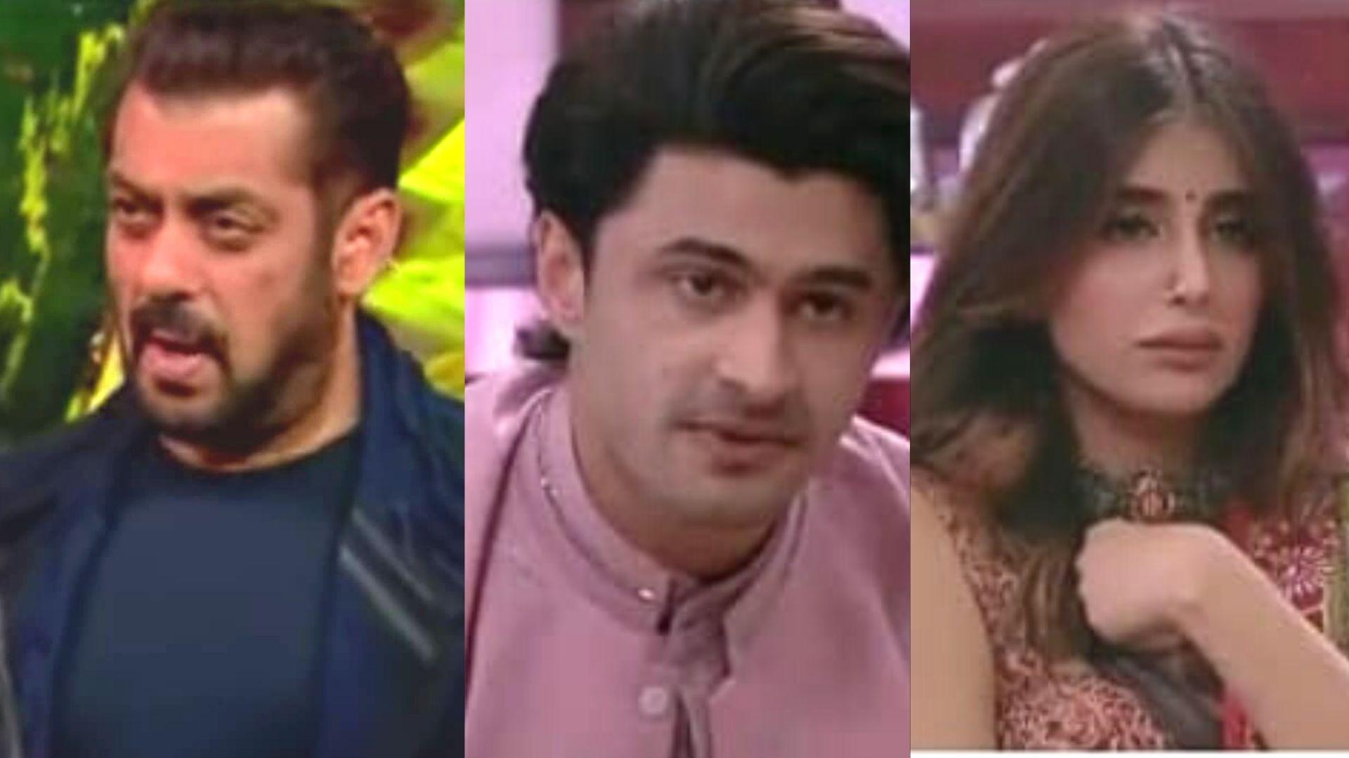 Bigg Boss 15 Weekend Ka Vaar: Host Salman Khan Slams Miesha Iyer And Ieshaan Sehgaal For Their Steamy Romance And PDA On National Television