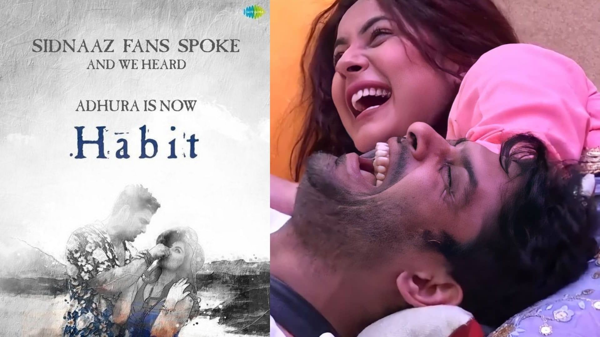 Sidharth Shukla And Shehnaaz Gill's Last Music Video Gets Its Original Name; Adhura Is Now Again Habit For This Reason