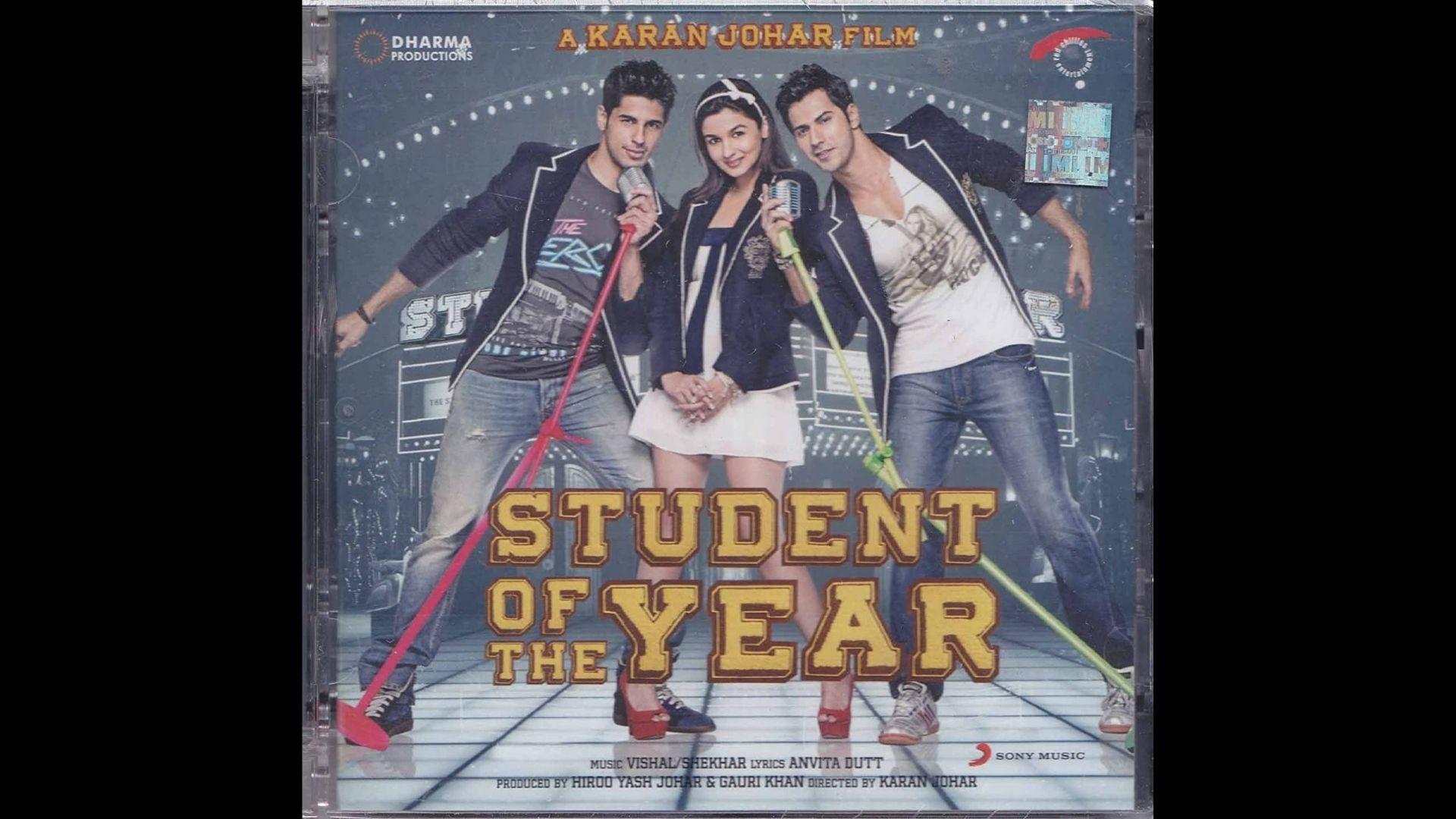 Student Of The Year: Alia Bhatt, Varun Dhawan And Sidharth Malhotra Starrer Clocks 9; Director Karan Johar Pens A Heartfelt Note For The Trio