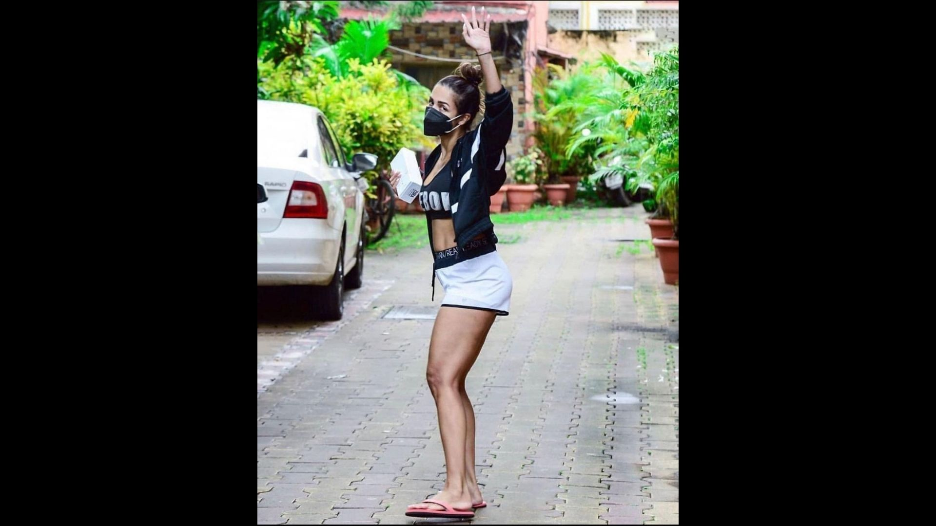Malaika Arora Flaunts Her Athleisure Outfit For Yet Another Time; Her Well Toned Body Curves Are Hard To Miss