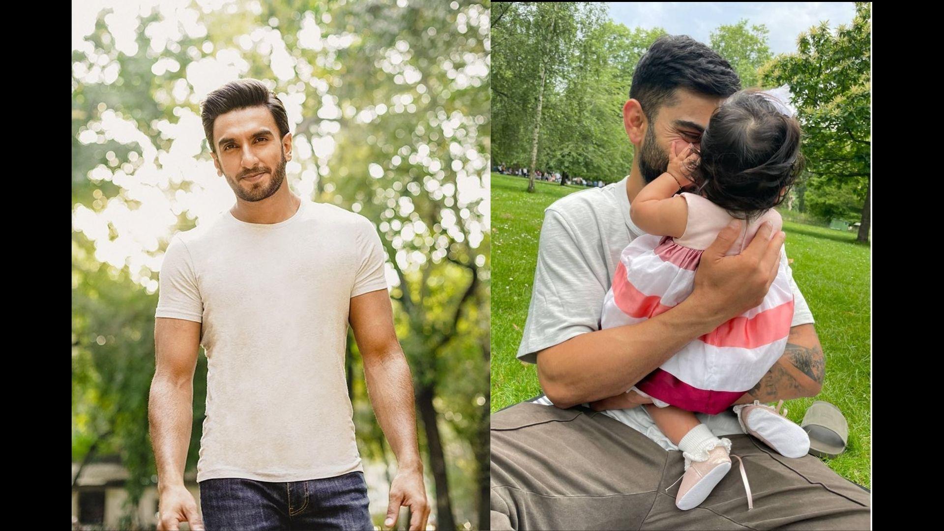 Ranveer Singh's Comment On Anushka Sharma's Instagram Post Ft Virat Kohli And Daughter Vamika Makes Us Ponder If He Is Ready To Embrace Parenthood