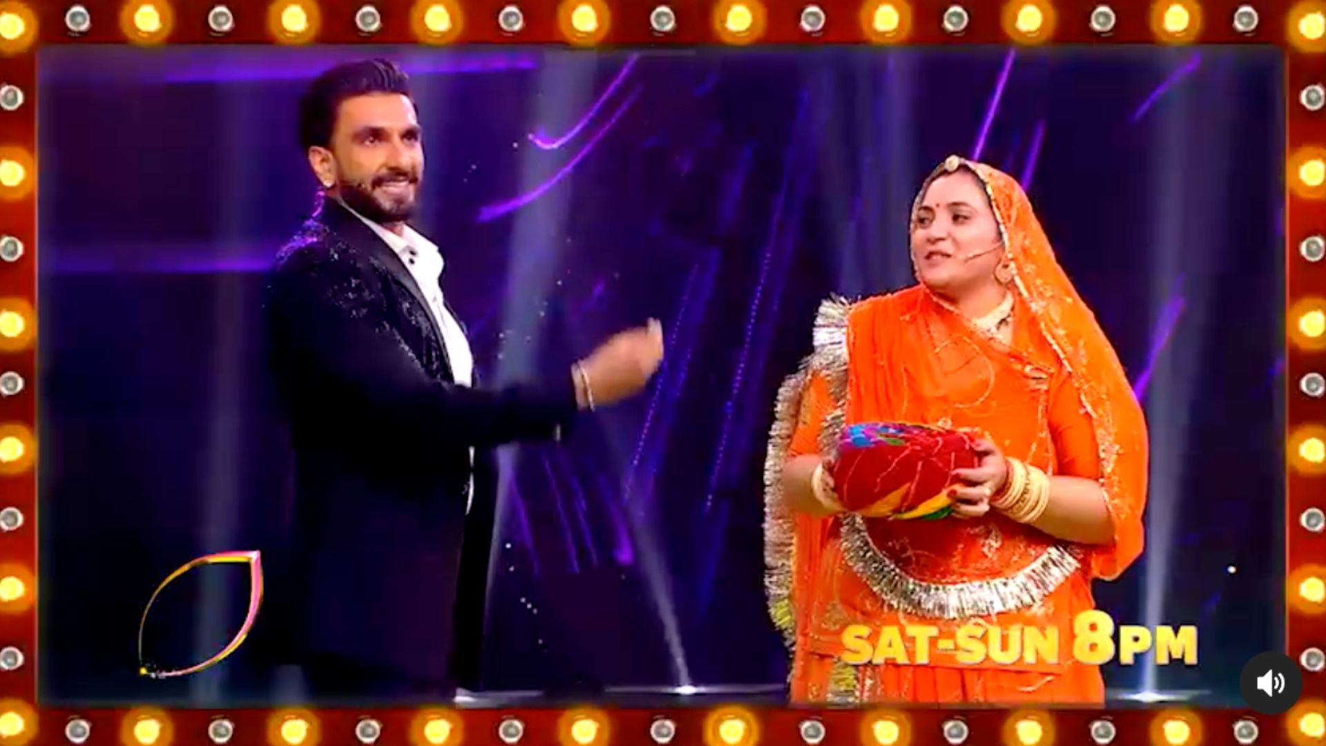 The Big Picture: Ranveer Singh Grooves In A Three Piece Suit On Deepika Padukone's Traditional Song With A Contestant