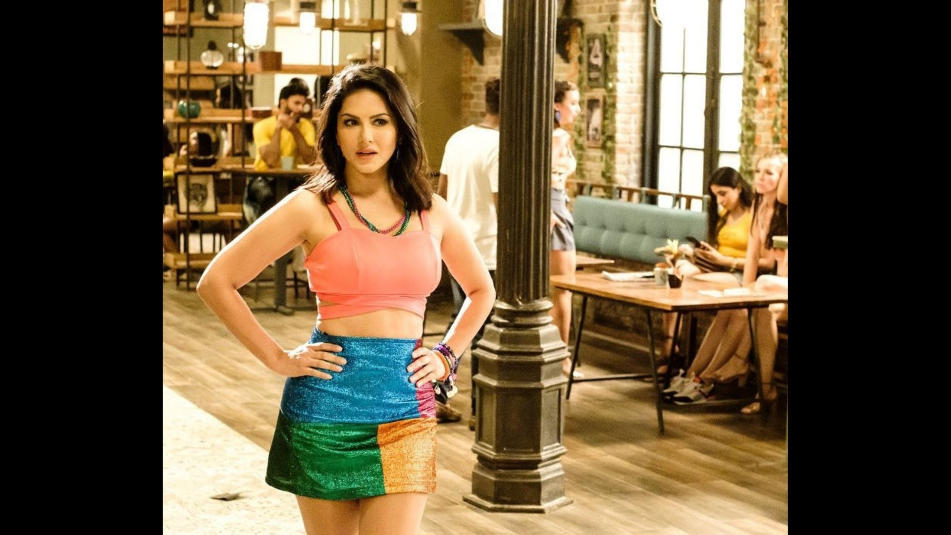 Sunny Leone Shares BTS Photos; Fans Can't Stop Gushing Over The Actress In The Comments Section