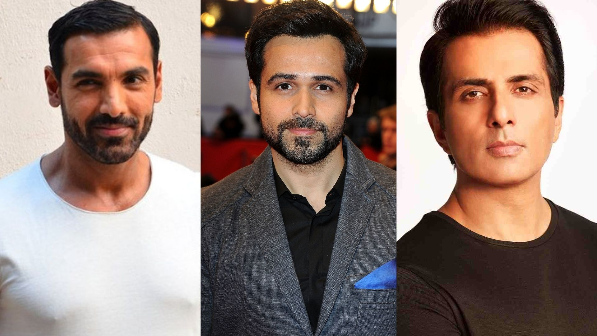 John Abraham, Emraan Hashmi And Sonu Sood Get Snapped As They Go Out And About In The City; Send Fans In A Tizzy With Their Pictures