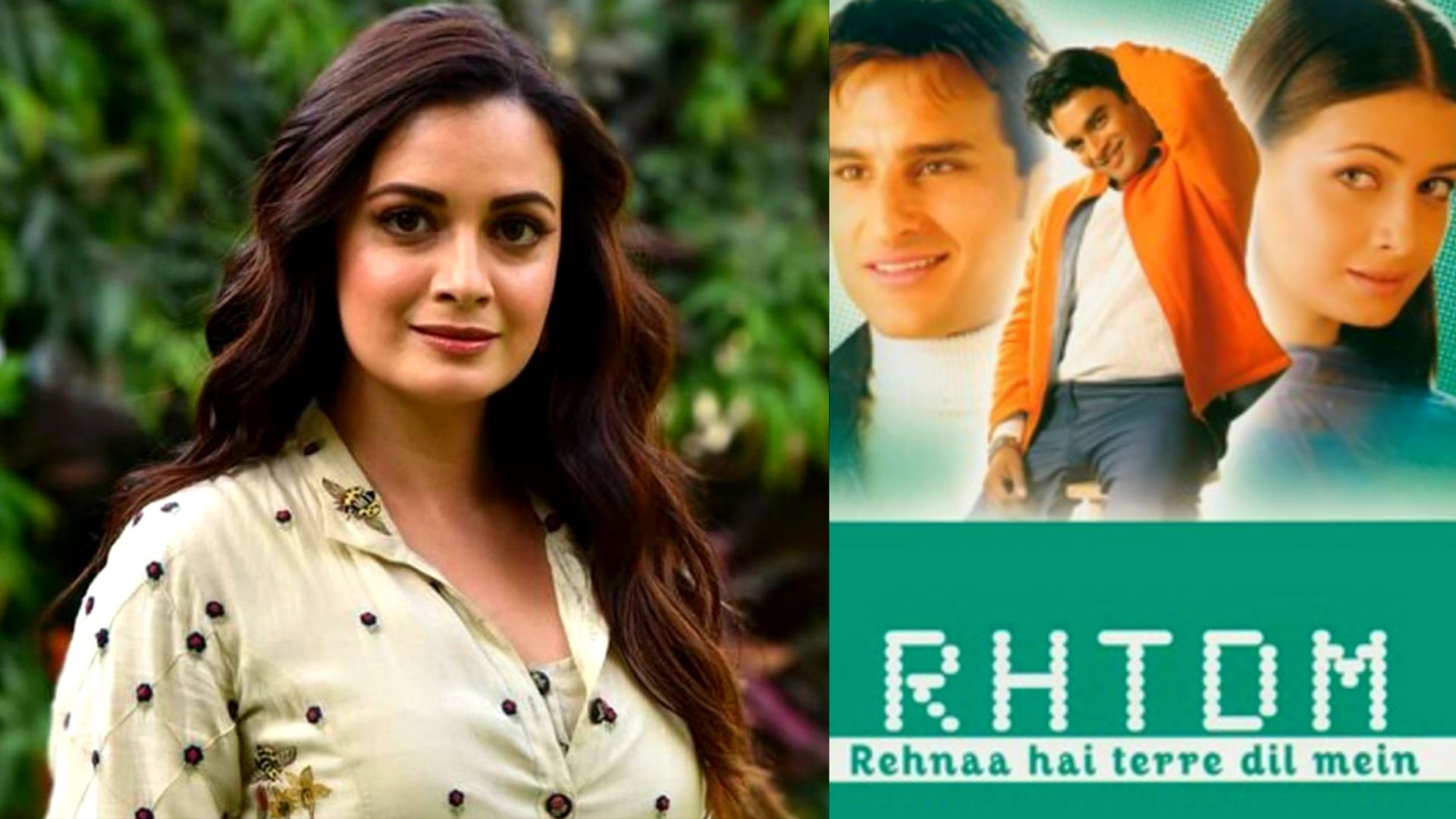 Rehna Hai Tere Dil Mein Clocks 20 Years: Dia Mirza Celebrates Two Decades In The Film Industry With An Emotional Note