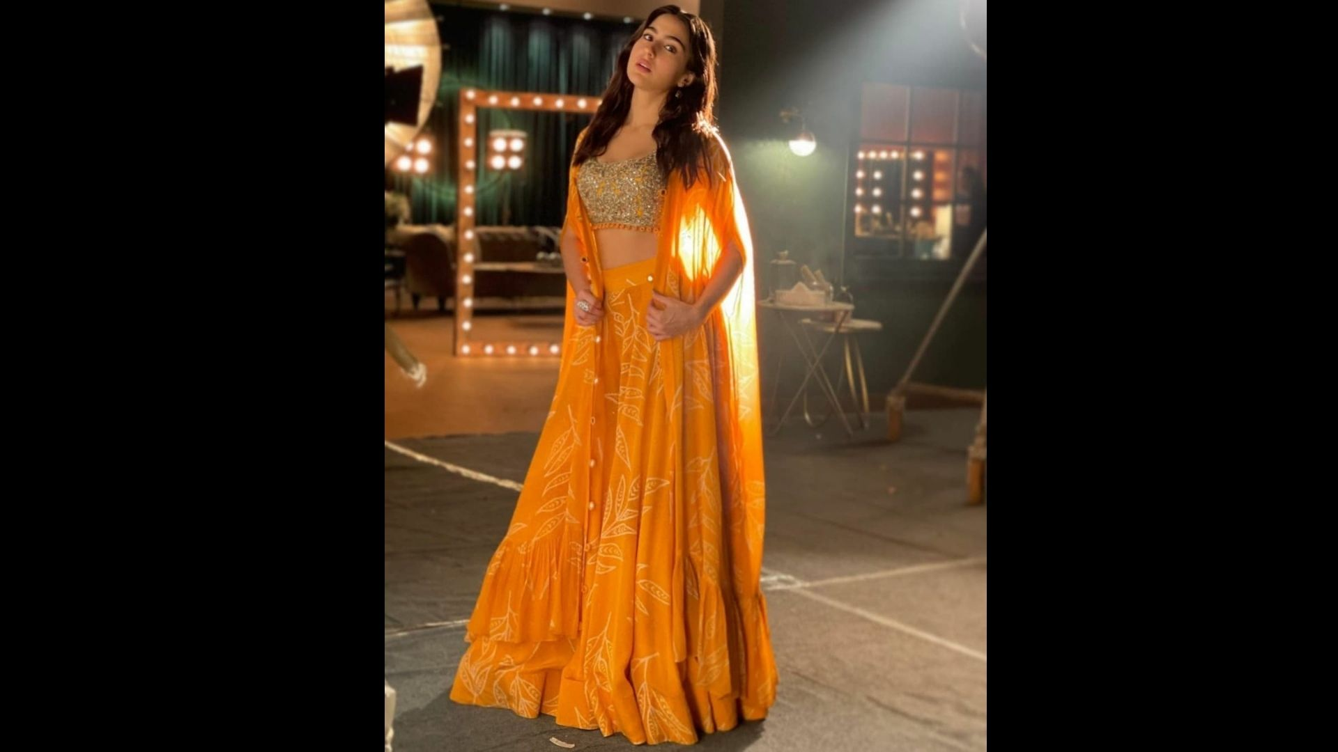 Want To Bookmark Sara Ali Khan's Yellow Sharara Look For Diwali? Wait Till You Know Its Price