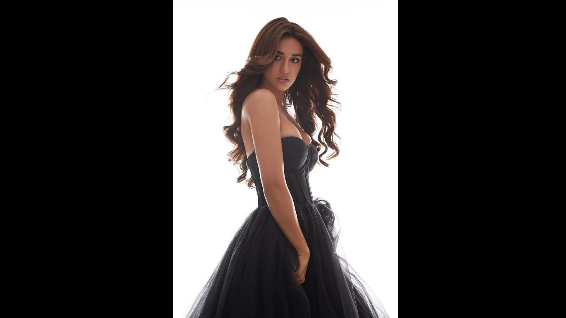 Disha Patani Shares BTS Video Of Her Recent Photoshoot; Her Black Strapless Gown Will Leave You Breathless