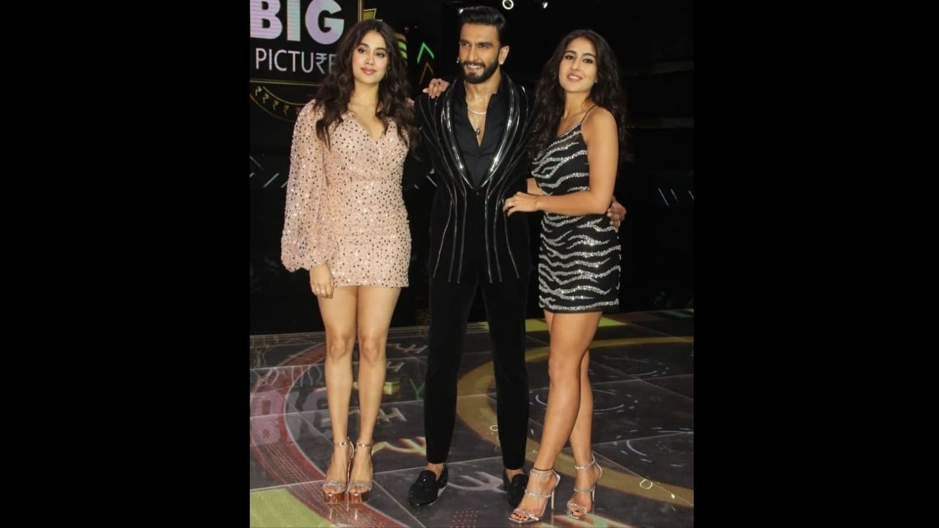 The Big Picture: Sara Ali Khan And Janhvi Kapoor Larking Around On The Sets Of Ranveer Singh's New Show Will Leave You In Amazed