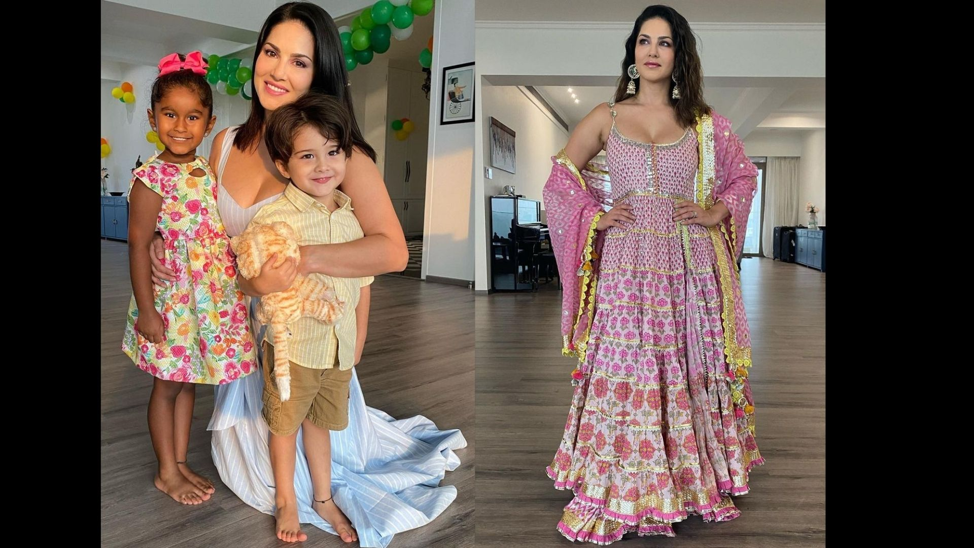 Sunny Leone Bestowing Love On Her Son Noah Is The Cutest Thing You Will See On The Internet