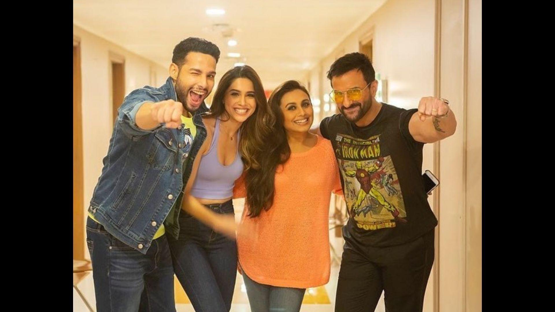 Bunty Aur Babli 2: Saif Ali Khan, Rani Mukerji, Siddhant Chaturvedi And Sharvari Begin Film Promotions; Get Goofy Together