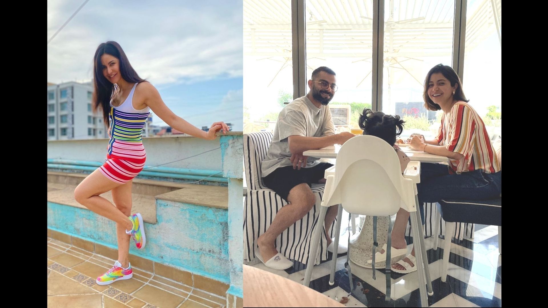 Katrina Kaif Couldn't Stop Herself But Comment THIS On Virat Kohli's Family Time Picture With Anushka Sharma And Vamika