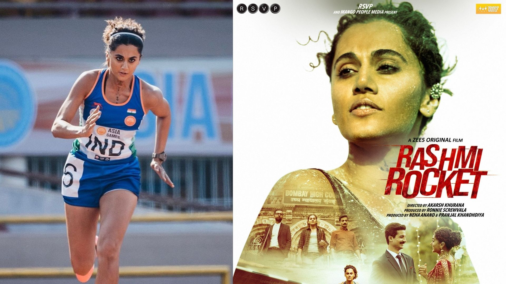 Rashmi Rocket: Taapsee Pannu Starrer Sports Drama Trends On Twitter; Netizens Lauds The Film And Actress For Outstanding Performance