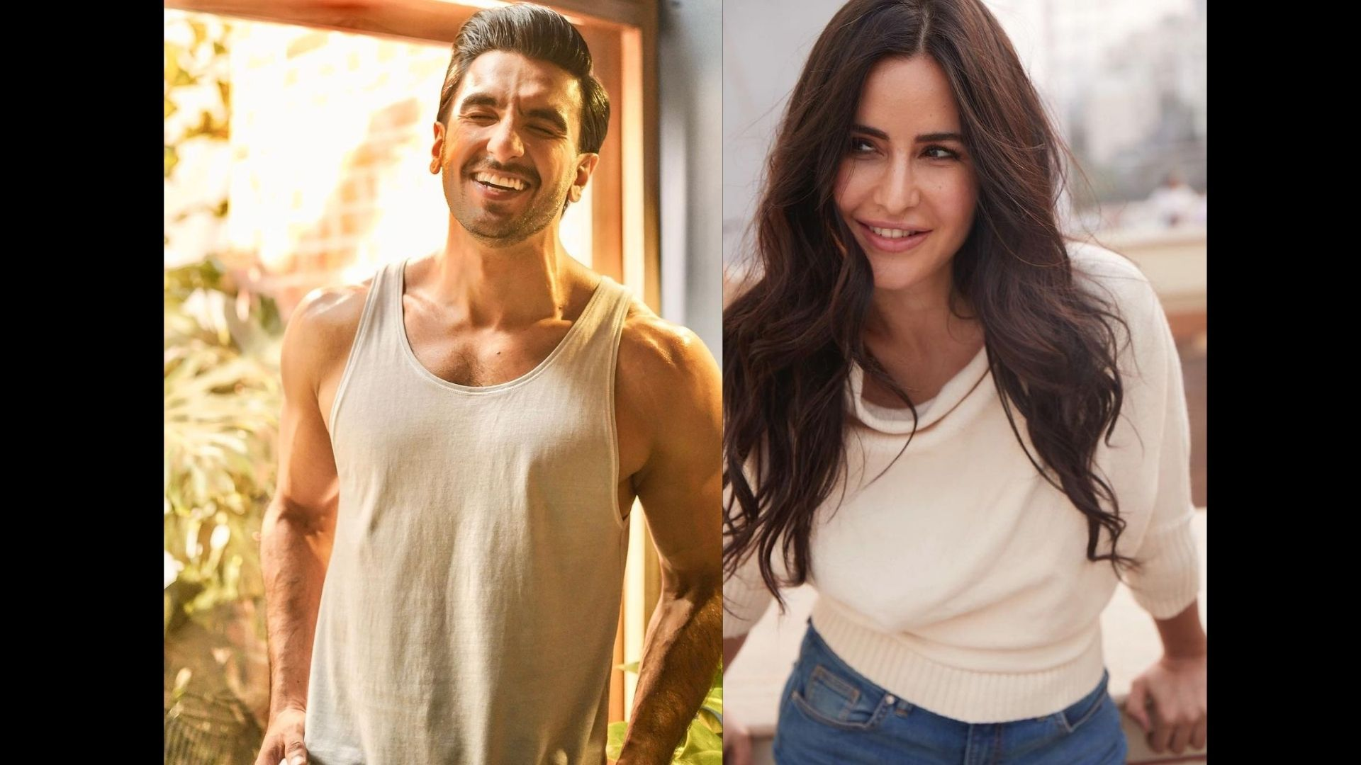 Katrina Kaif And Ranveer Singh Are Snapped In Their Casual Best At The Airport