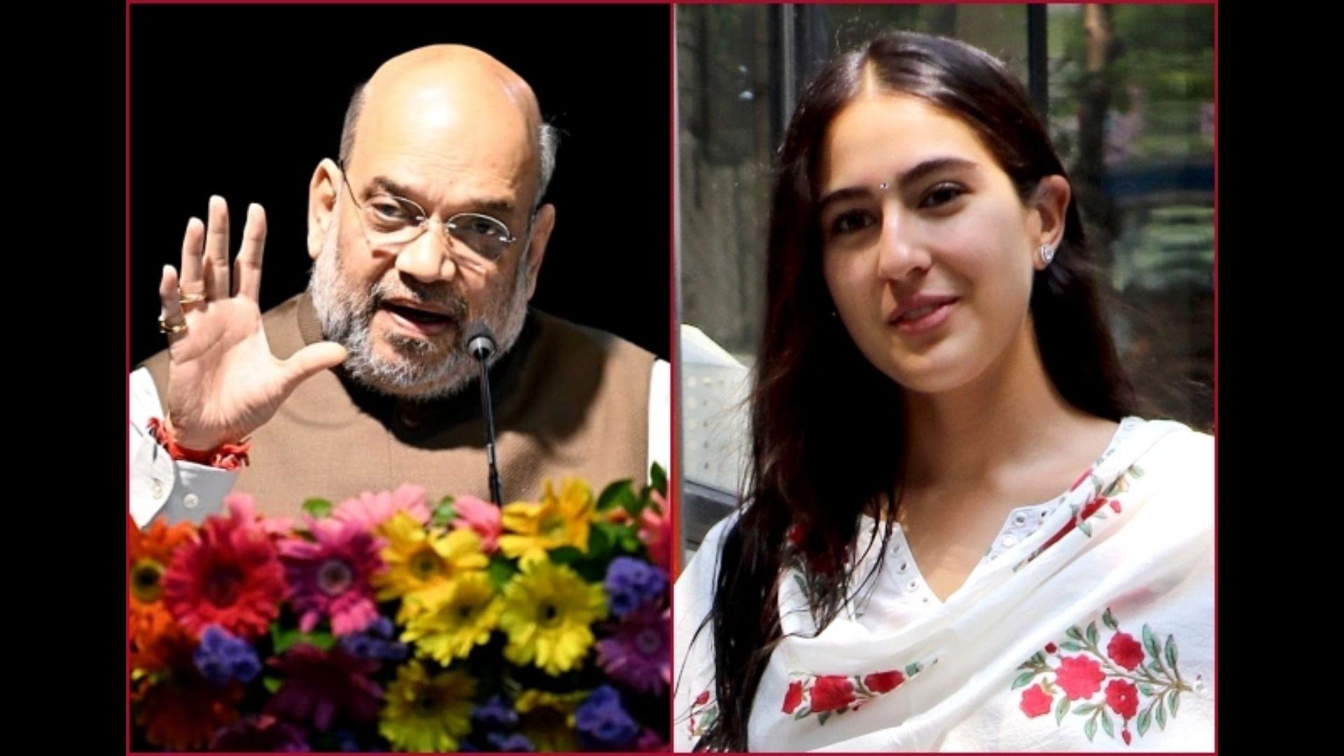 Sara Ali Khan Wishes Politician Amit Shah Happy Birthday; Netizens Establish Weird Connection And Troll her