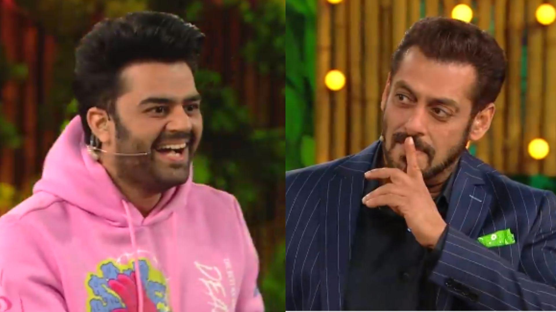 Bigg Boss 15: Maniesh Paul Asks Salman Khan About Hosting Bigg Boss 16; Host Places A Finger On His Lips