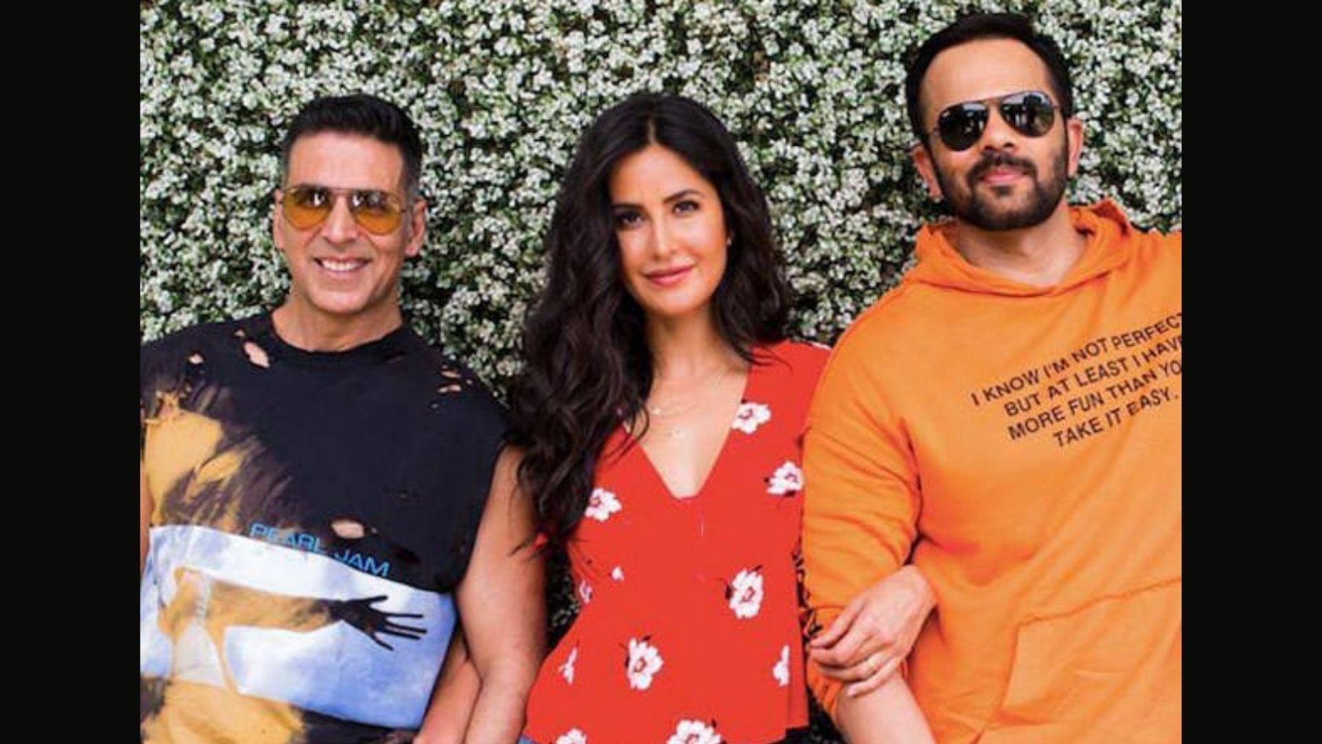 Sooryavanshi: Katrina Kaif Goofs Around With Akshay Kumar And Rohit Shetty During The Promotional Spree