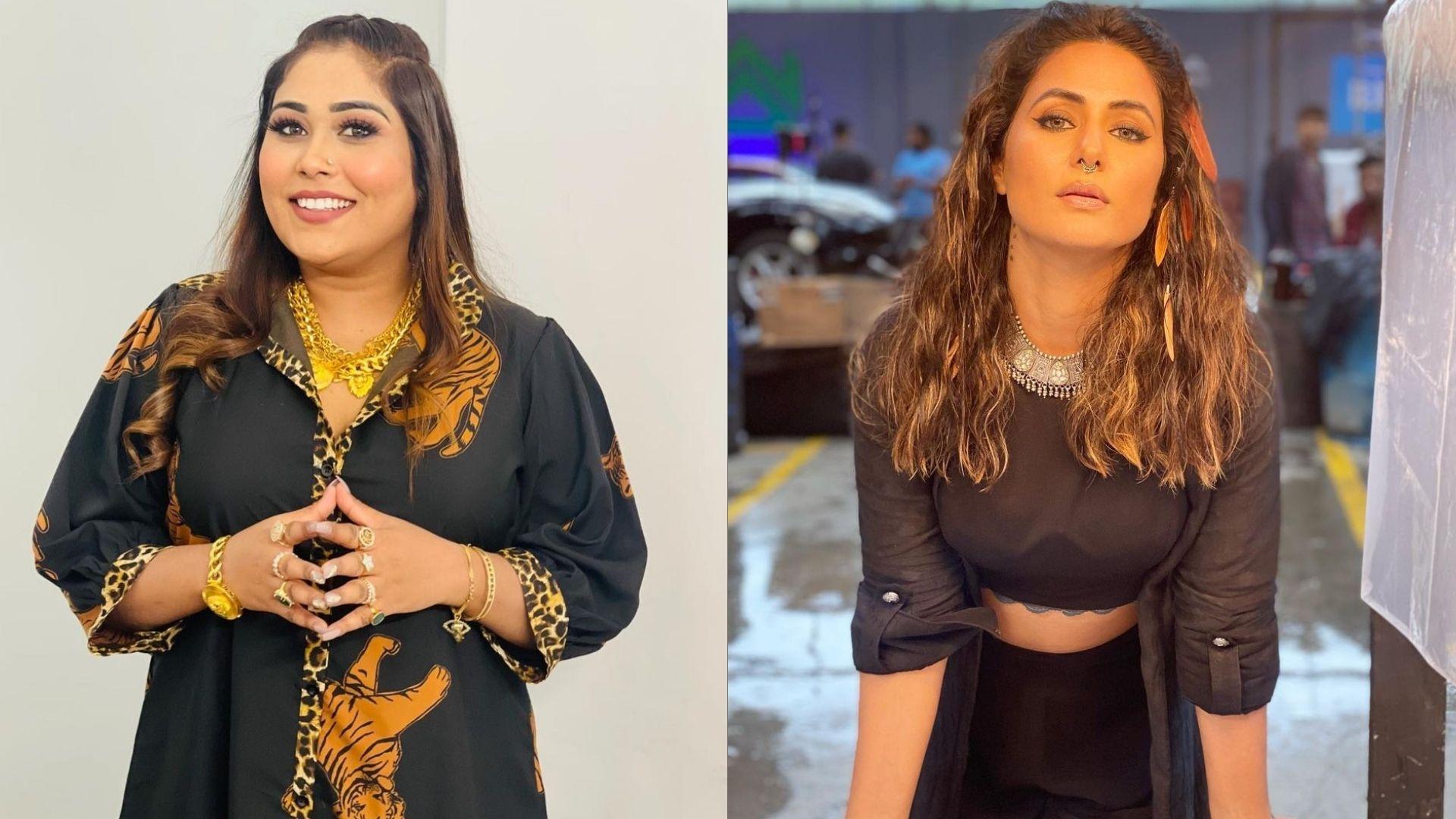 Bigg Boss 15 Weekend Ka Vaar: Days After Her Mental Wellness Post, Afsana Khan Greets Hina Khan With A Distasteful Comment – Know What